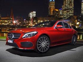 Fotos de Mercedes Clase C C250 AMG Line W205 Australia 2014