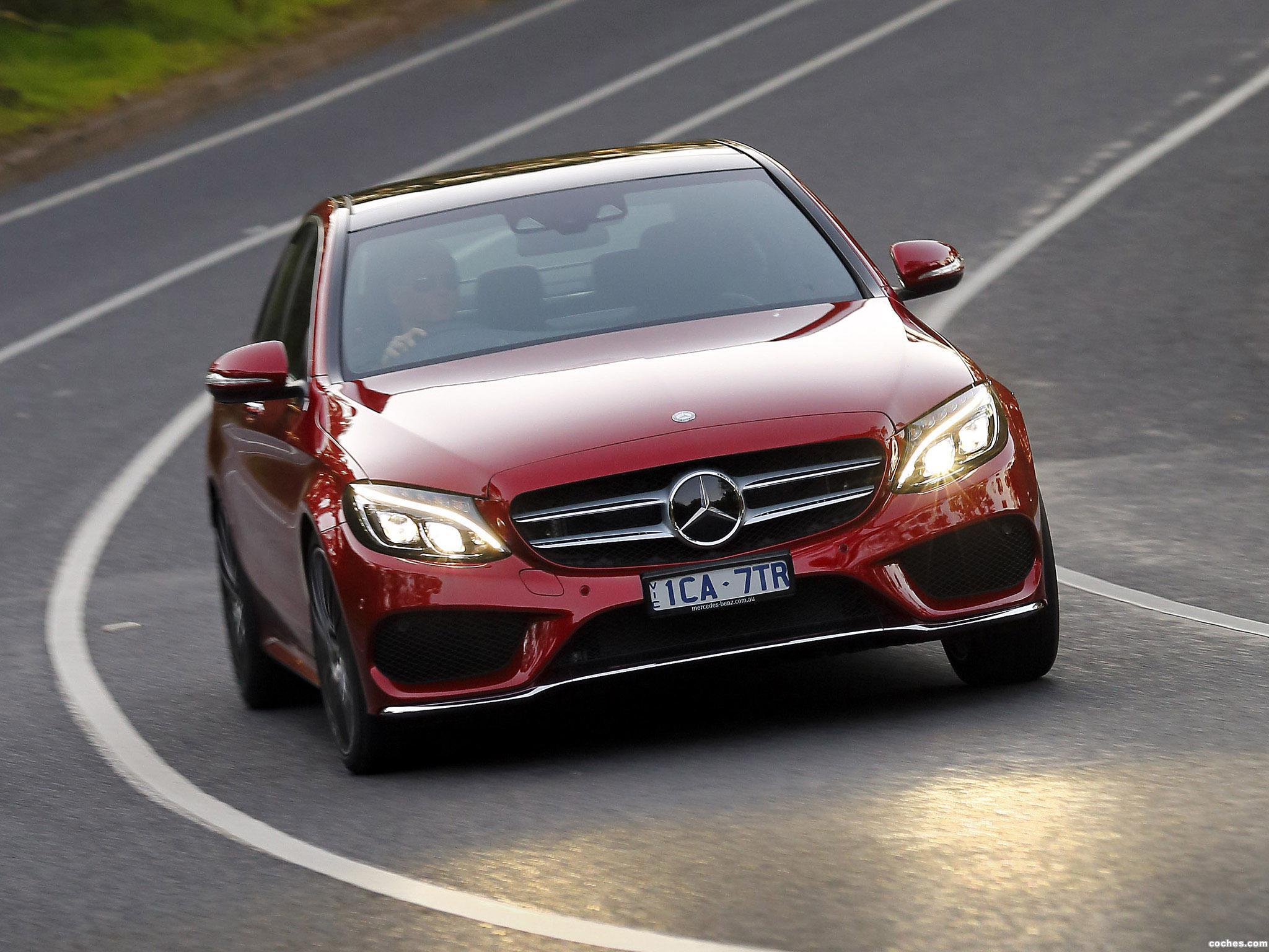 Foto 7 de Mercedes Clase C C250 AMG Line W205 Australia 2014