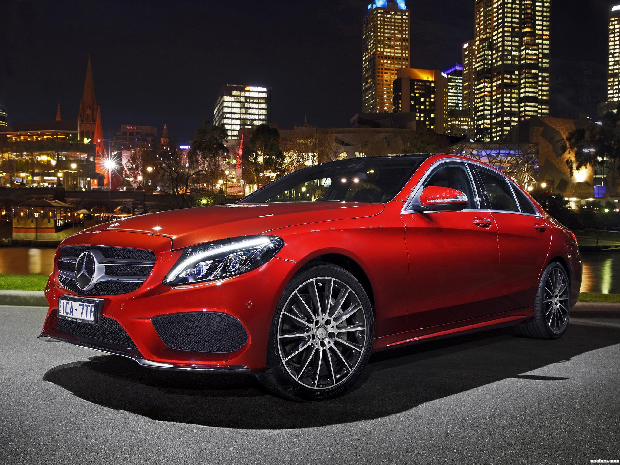 Foto 0 de Mercedes Clase C C250 AMG Line W205 Australia 2014