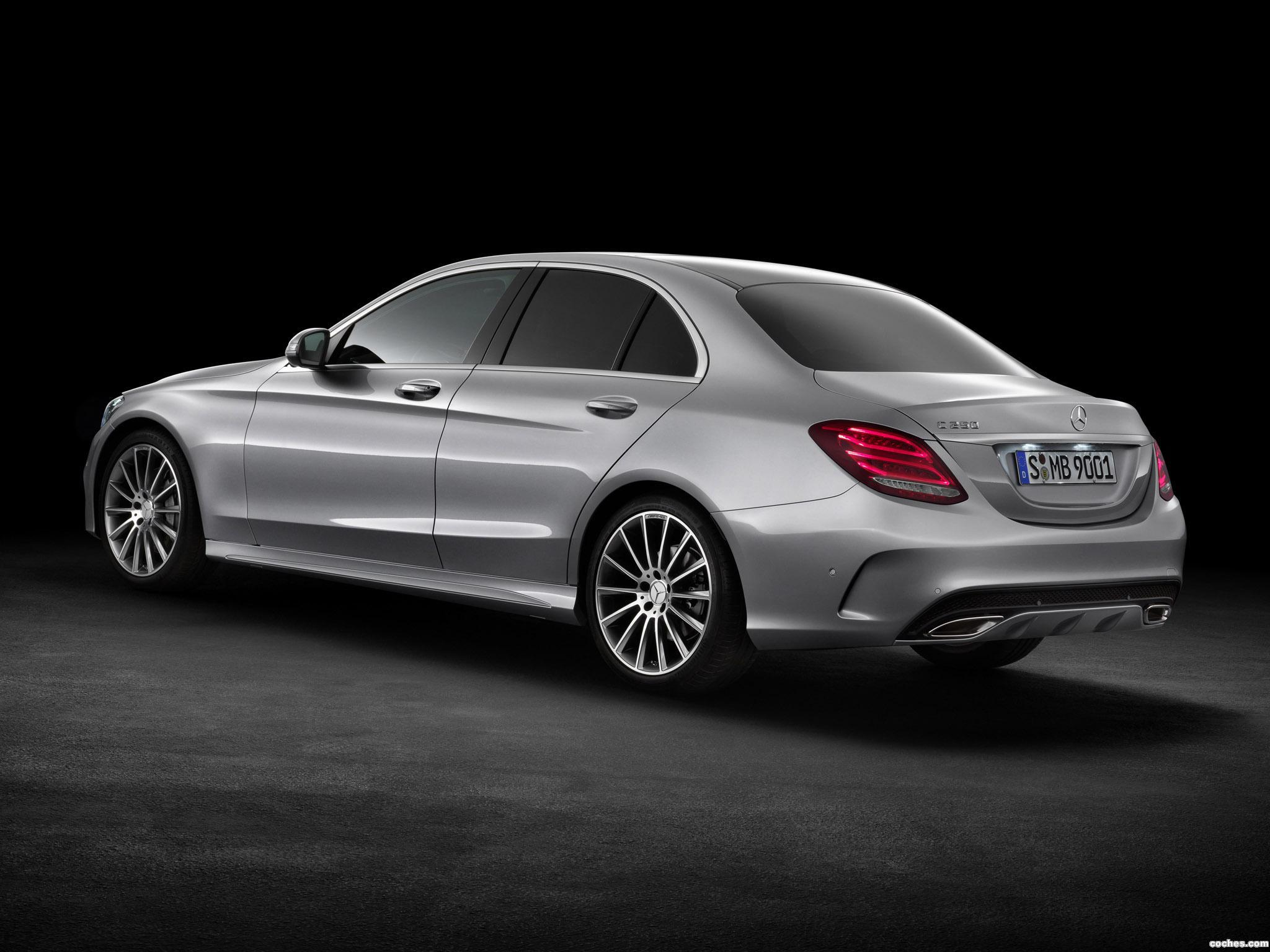 fotos de mercedes clase c c250 amg line w205 2014 foto 8. Black Bedroom Furniture Sets. Home Design Ideas