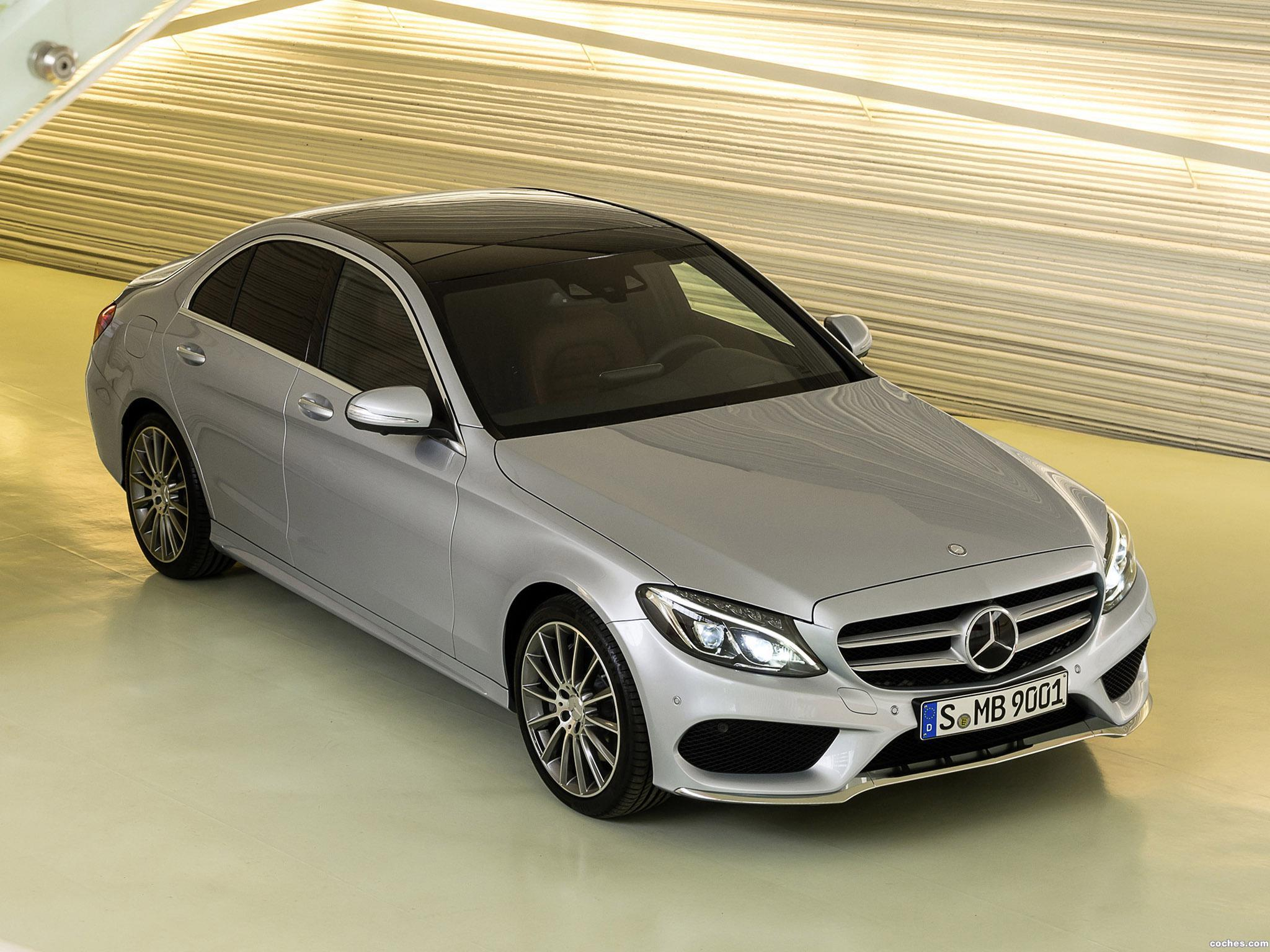 fotos de mercedes clase c c250 amg line w205 2014 foto 7. Black Bedroom Furniture Sets. Home Design Ideas