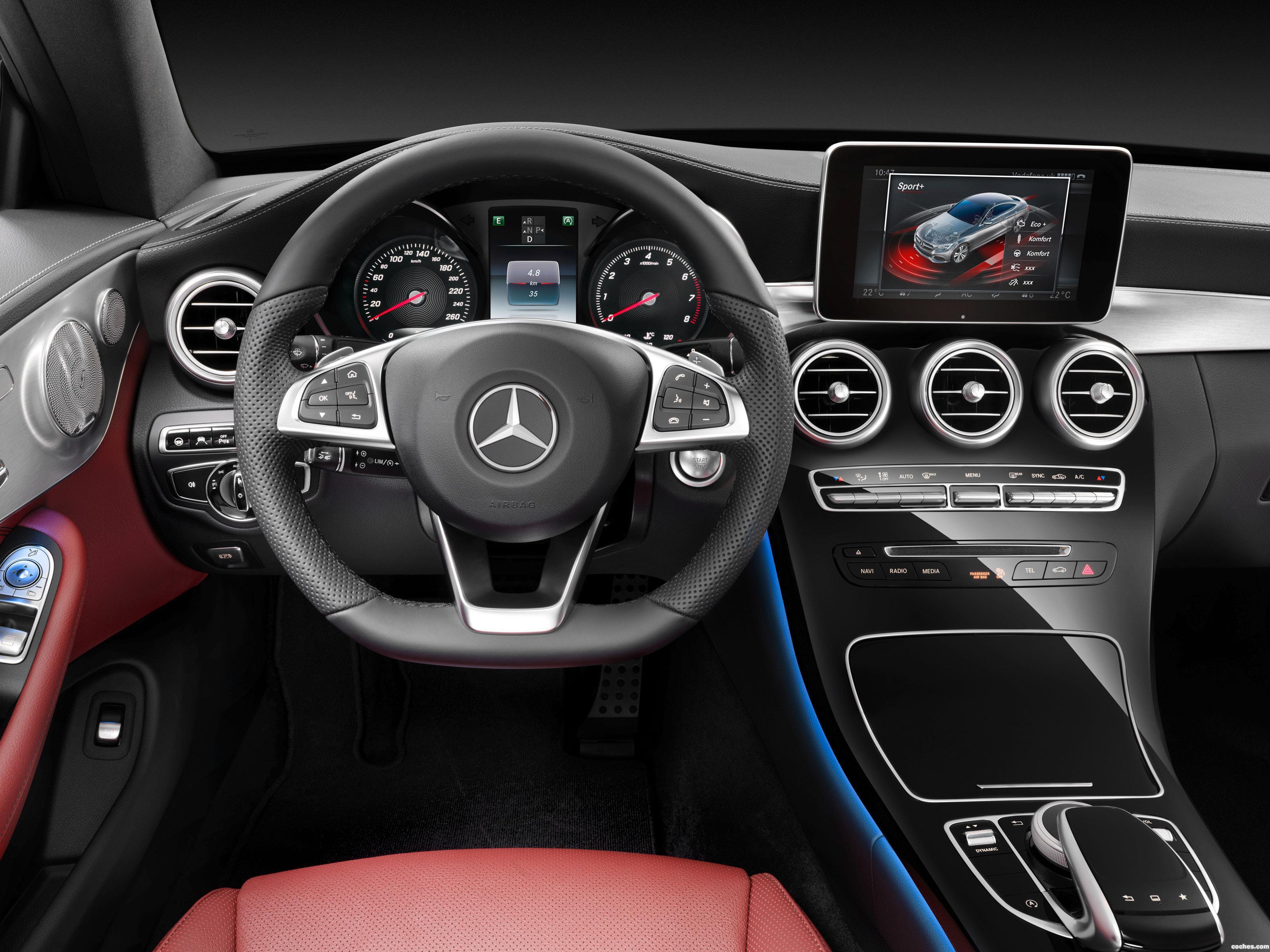 Foto 21 de Mercedes Clase C C300 Coupe AMG Line C205 2015
