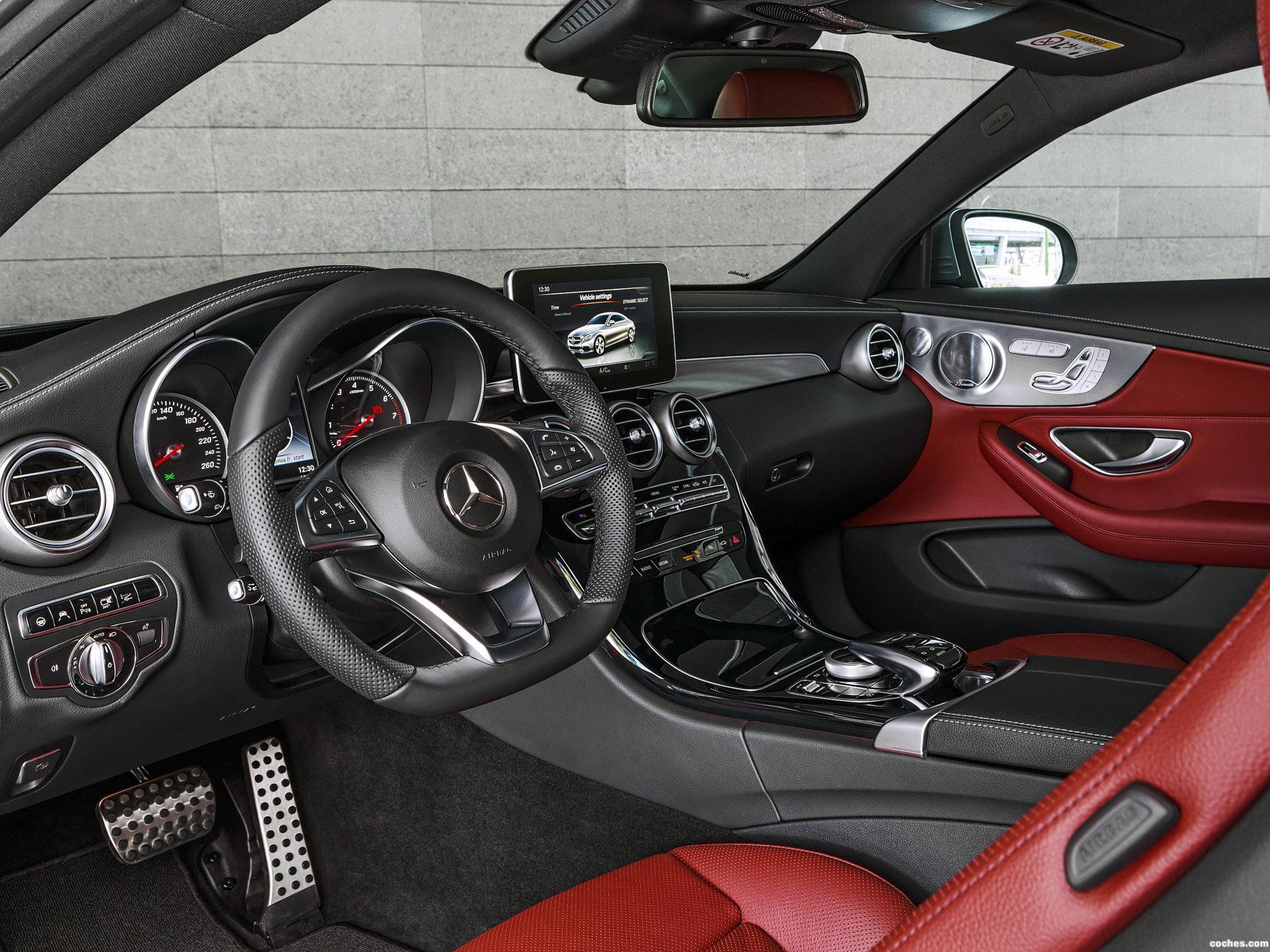 Foto 30 de Mercedes Clase C C300 Coupe AMG Line C205 2015