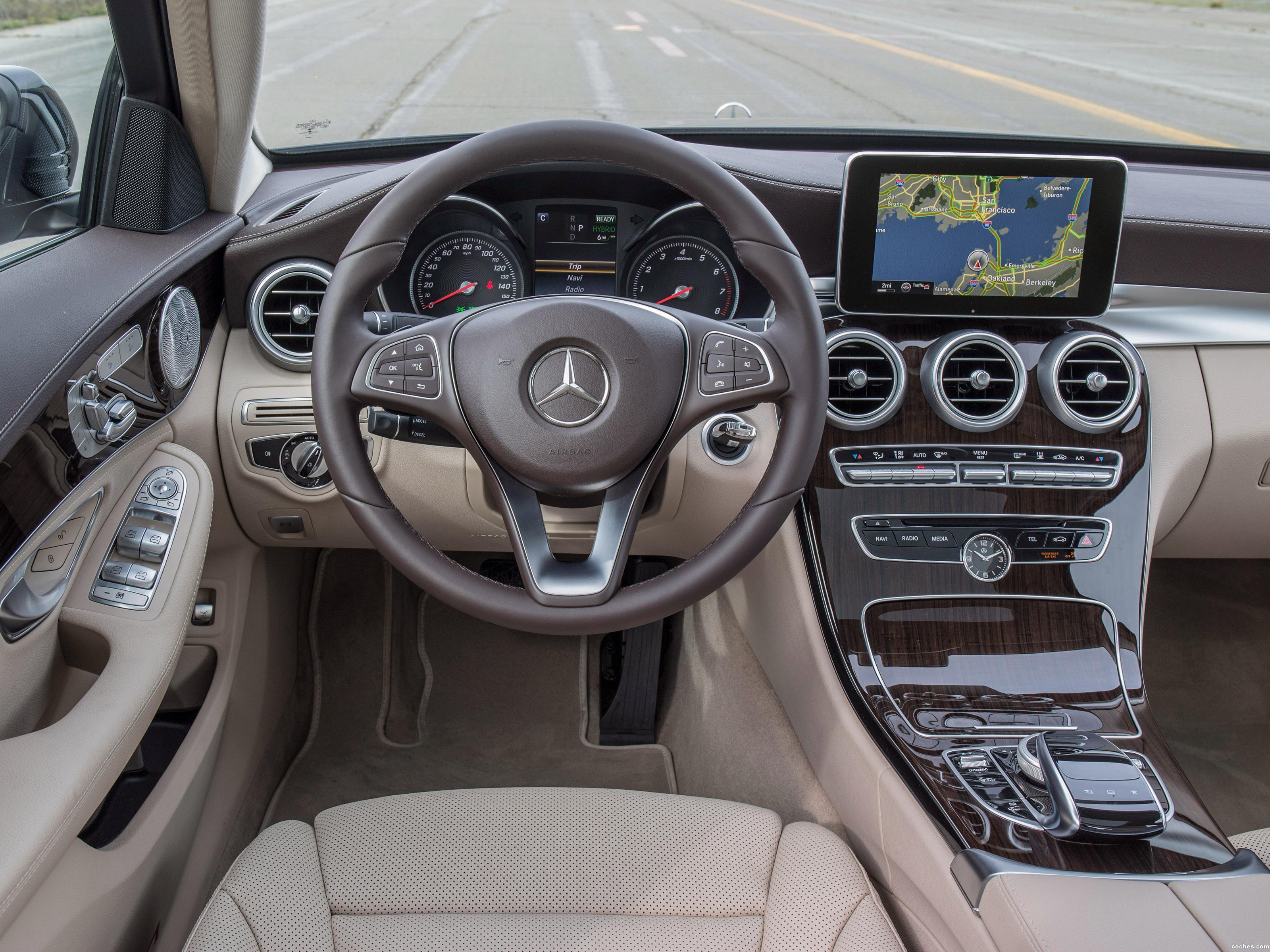 Foto 15 de Mercedes Clase C 350 Exclusive Line W205 USA 2015