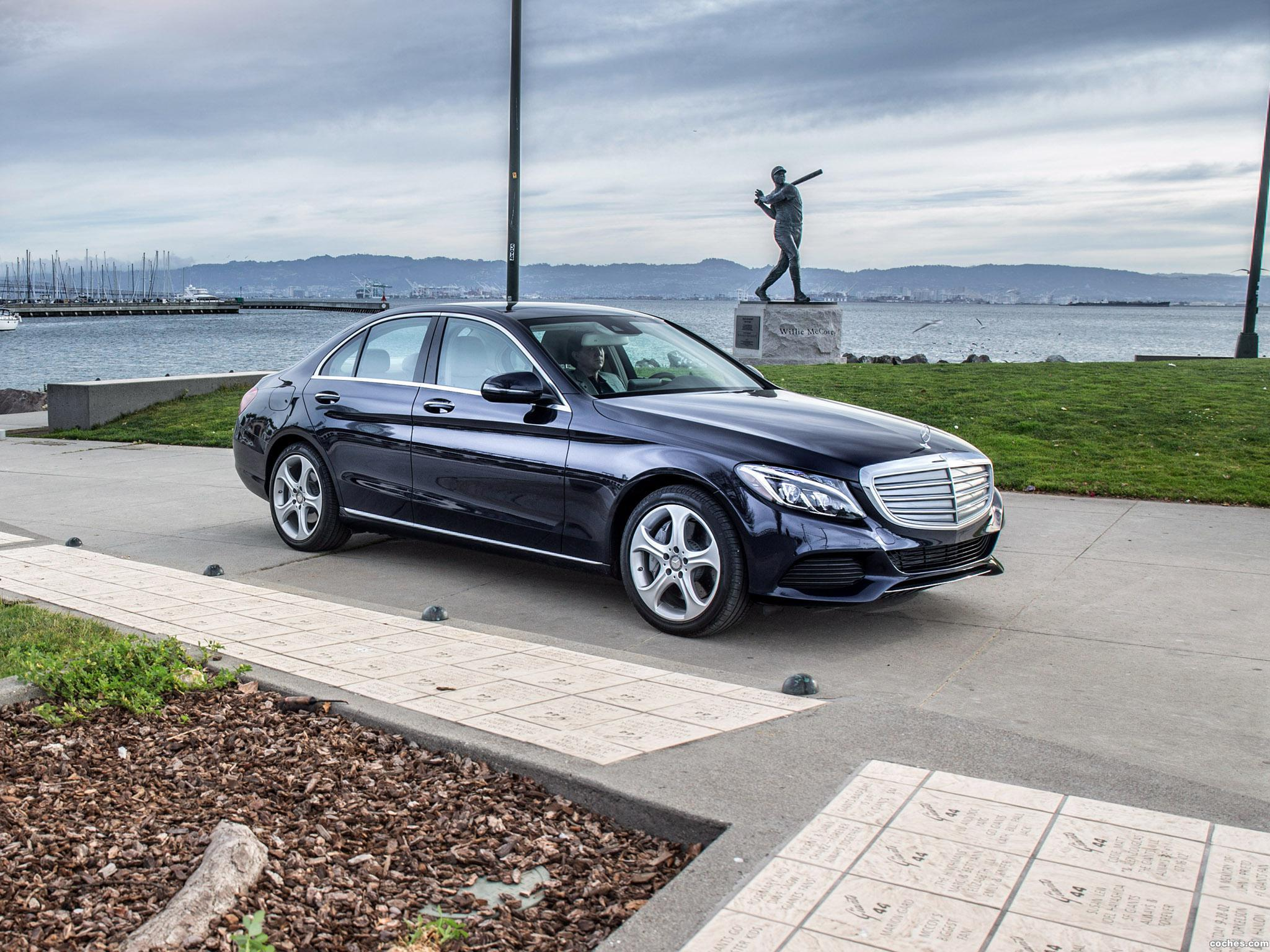 Foto 6 de Mercedes Clase C 350 Exclusive Line W205 USA 2015