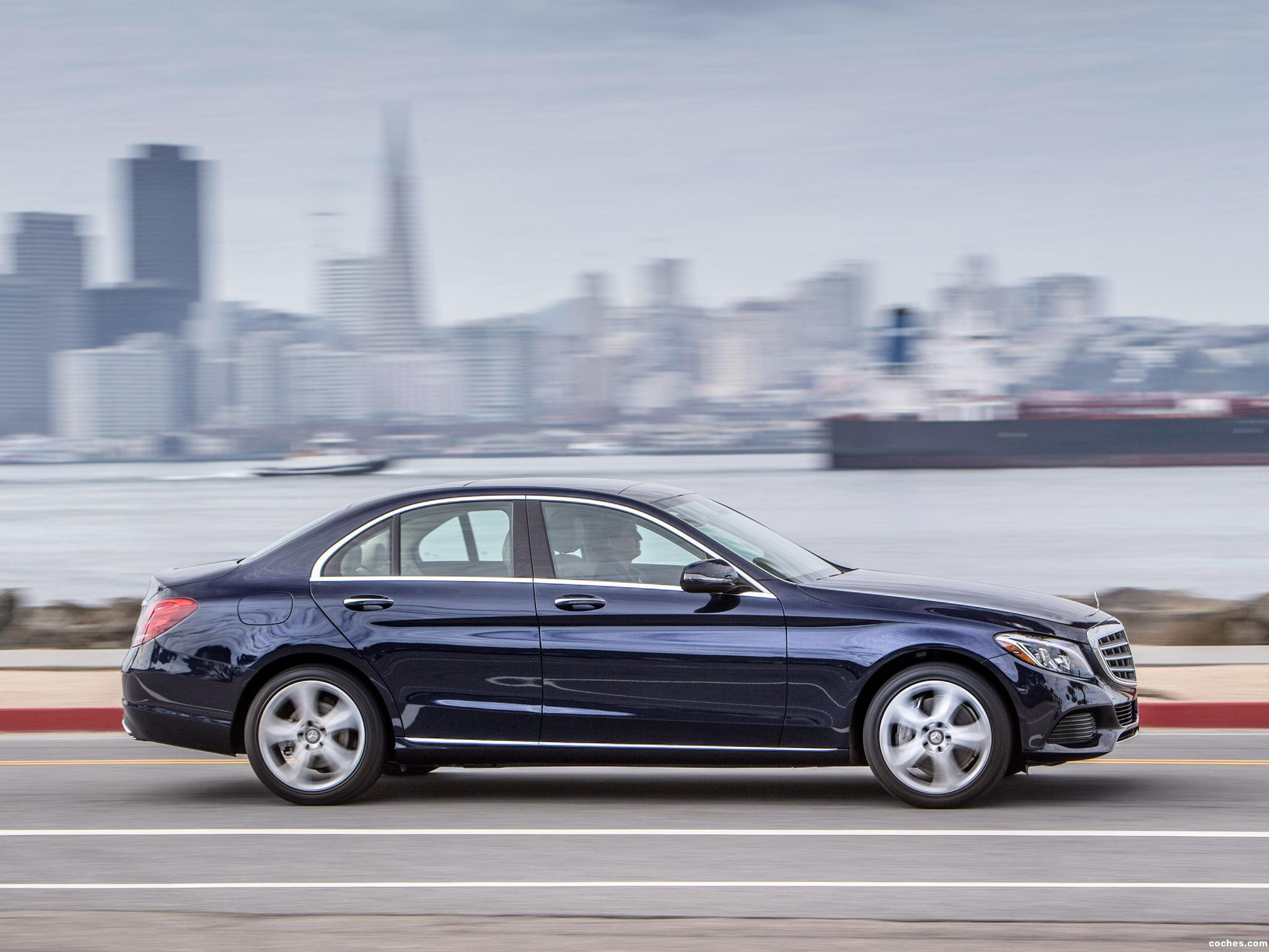Foto 4 de Mercedes Clase C 350 Exclusive Line W205 USA 2015