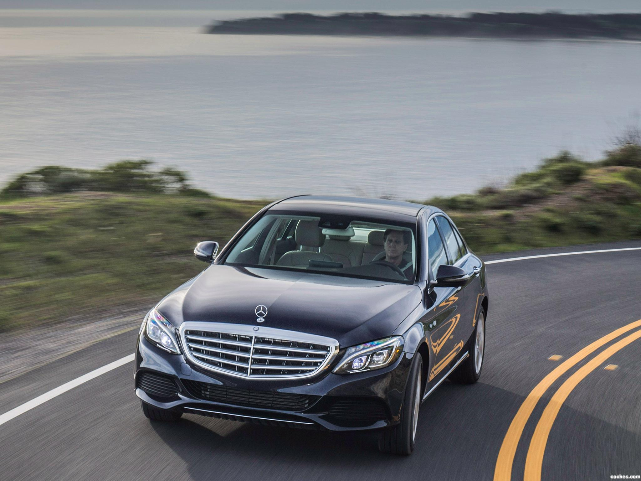 Foto 3 de Mercedes Clase C 350 Exclusive Line W205 USA 2015