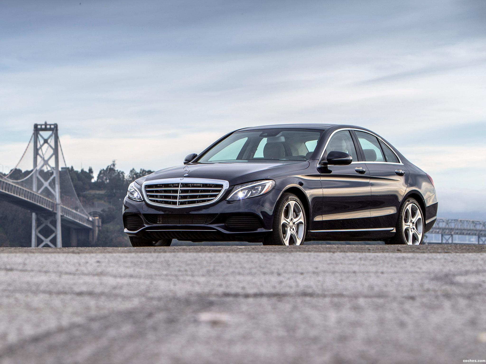 Foto 1 de Mercedes Clase C 350 Exclusive Line W205 USA 2015