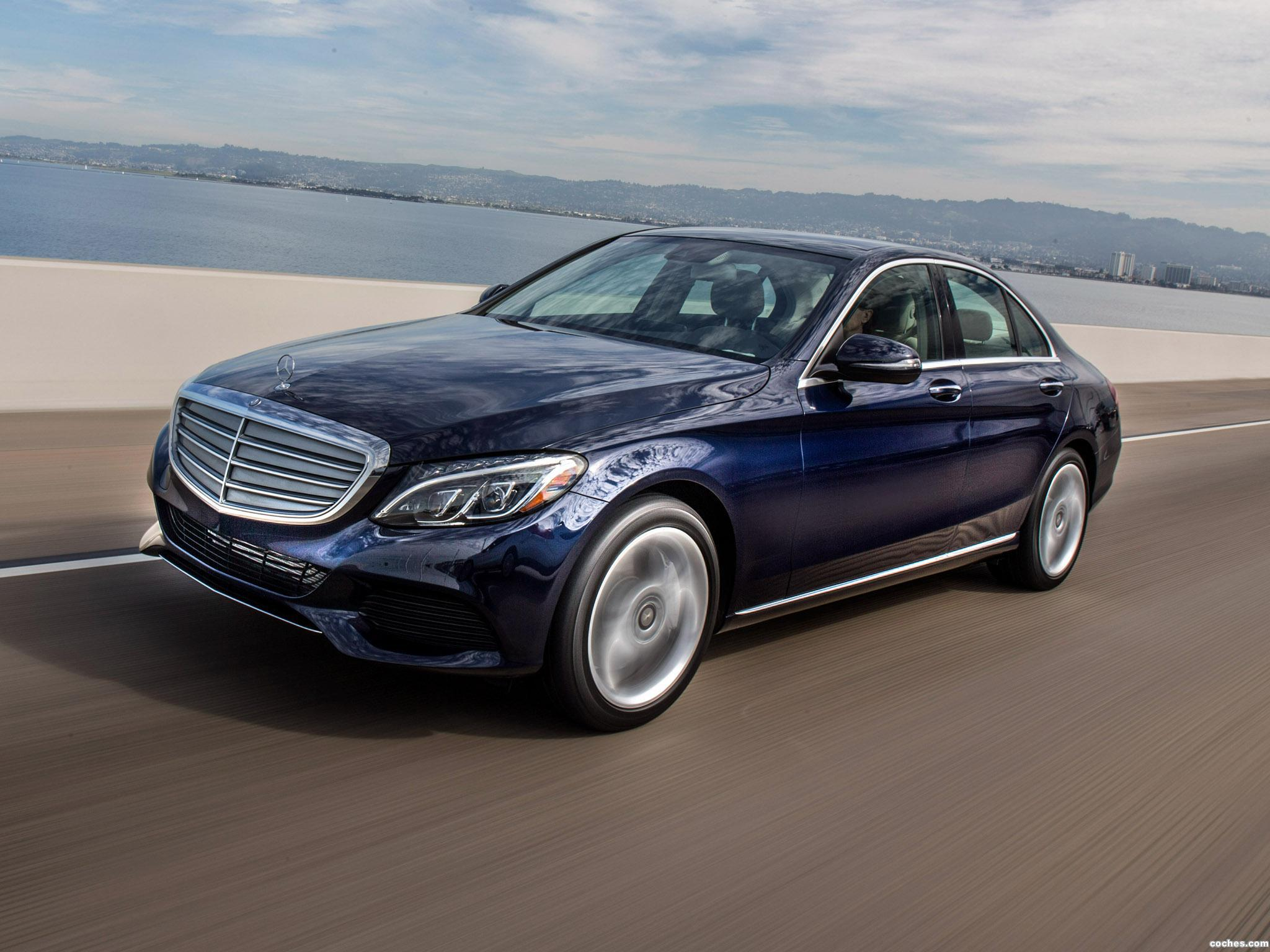 Foto 9 de Mercedes Clase C 350 Exclusive Line W205 USA 2015