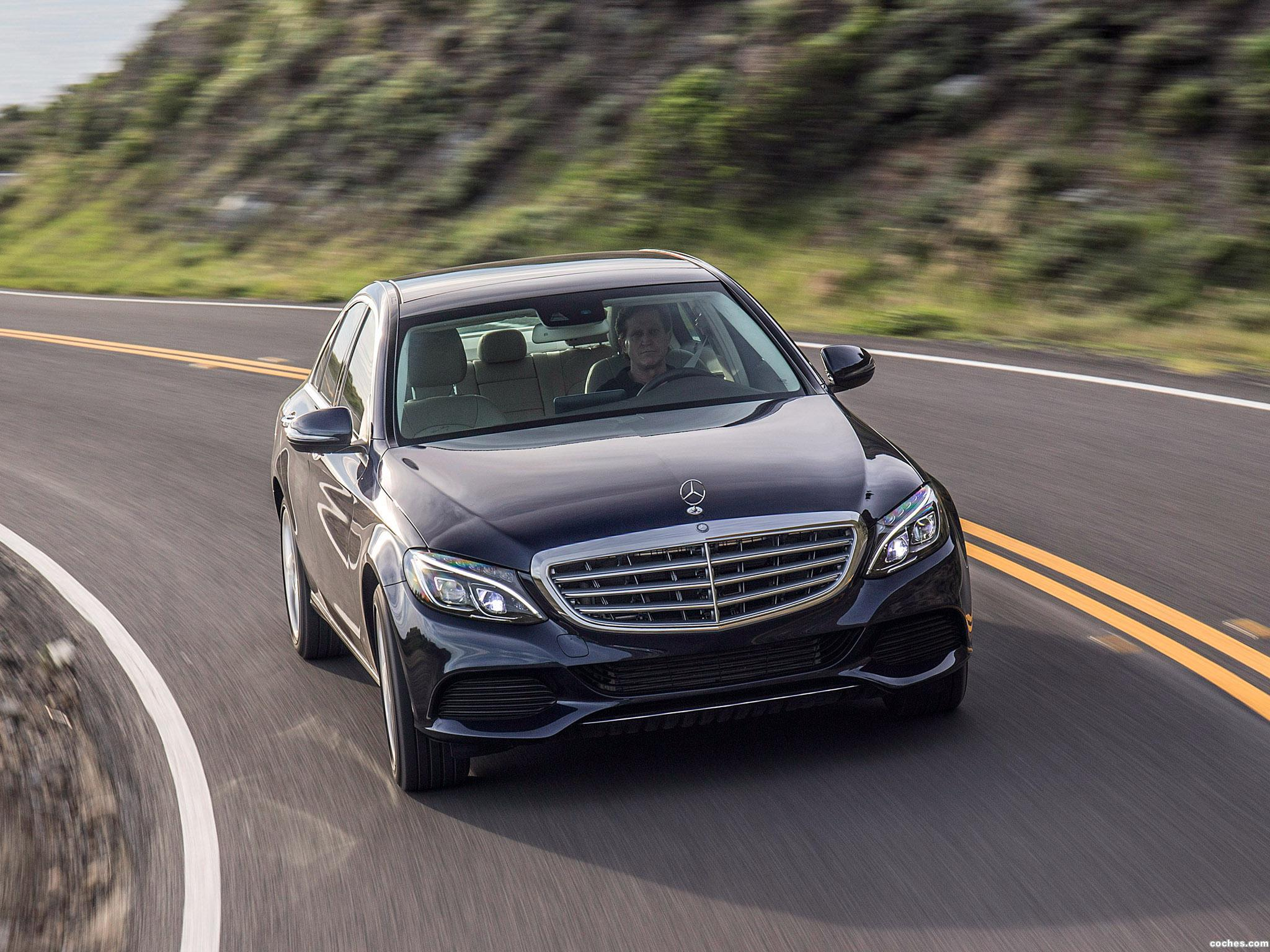 Foto 7 de Mercedes Clase C 350 Exclusive Line W205 USA 2015