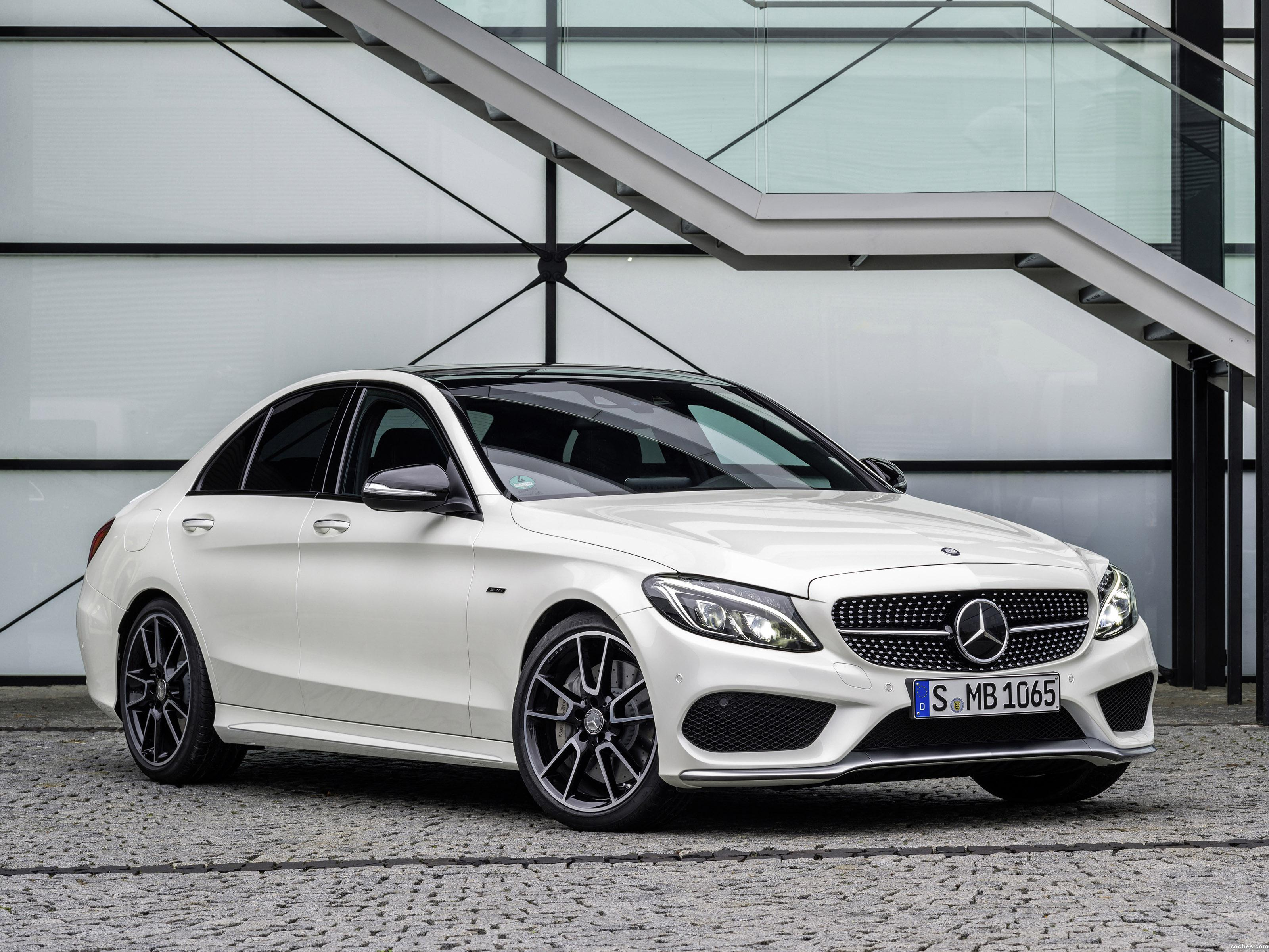 fotos de mercedes clase c c450 amg sport 2015. Black Bedroom Furniture Sets. Home Design Ideas