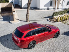 Ver foto 20 de Mercedes Clase C 450 AMG Sport Estate S205  2015