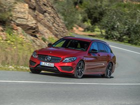 Ver foto 15 de Mercedes Clase C 450 AMG Sport Estate S205  2015