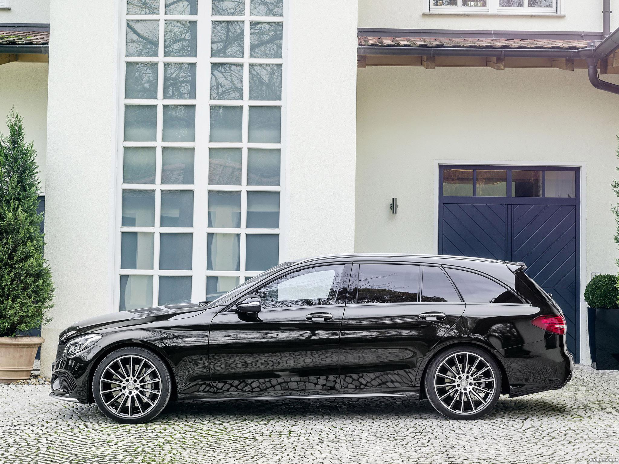 Foto 2 de Mercedes Clase C 450 AMG Sport Estate S205  2015