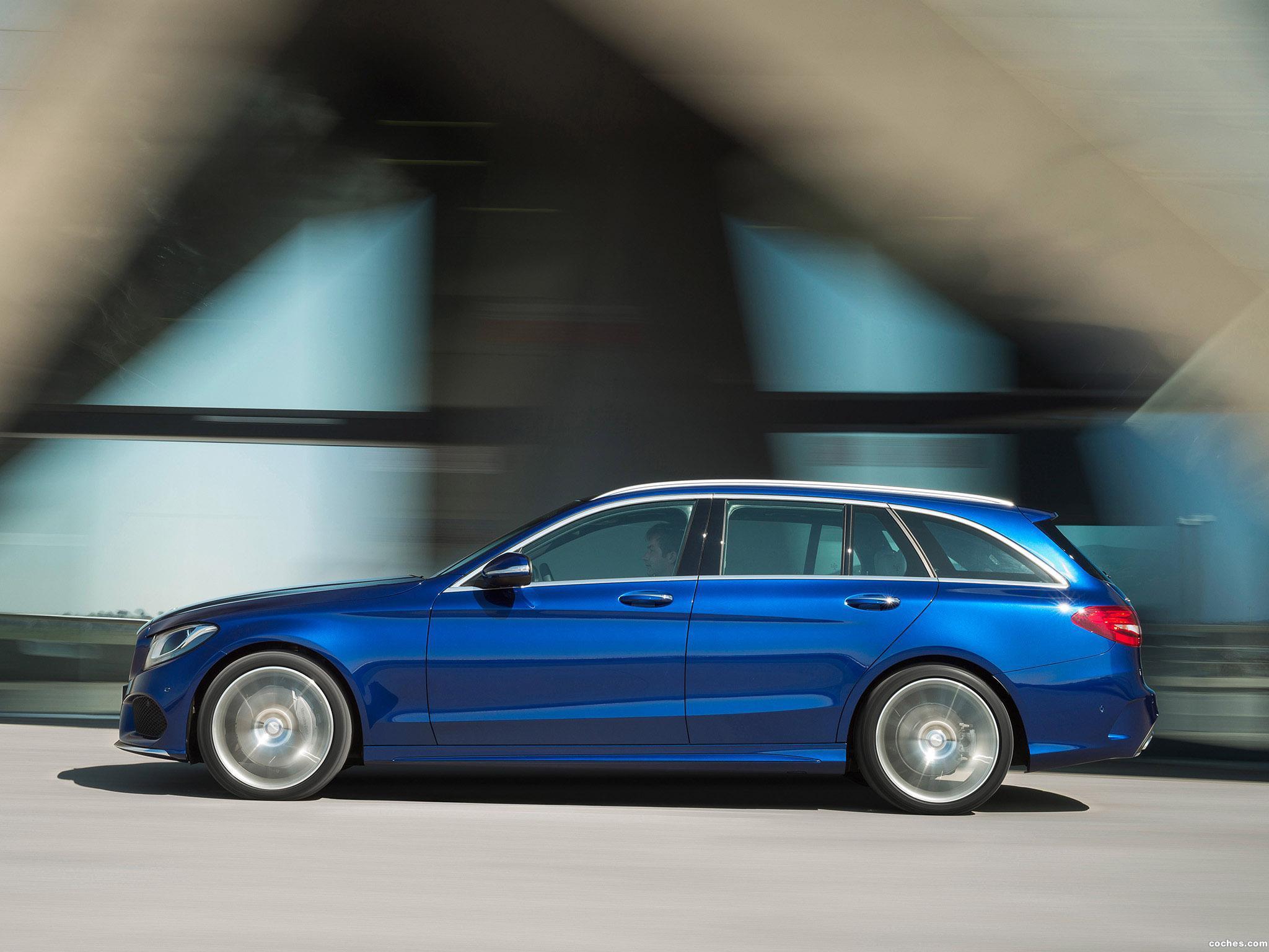 Foto 13 de Mercedes Clase C Estate C250 Bluetec AMG Line Estate S205 2014