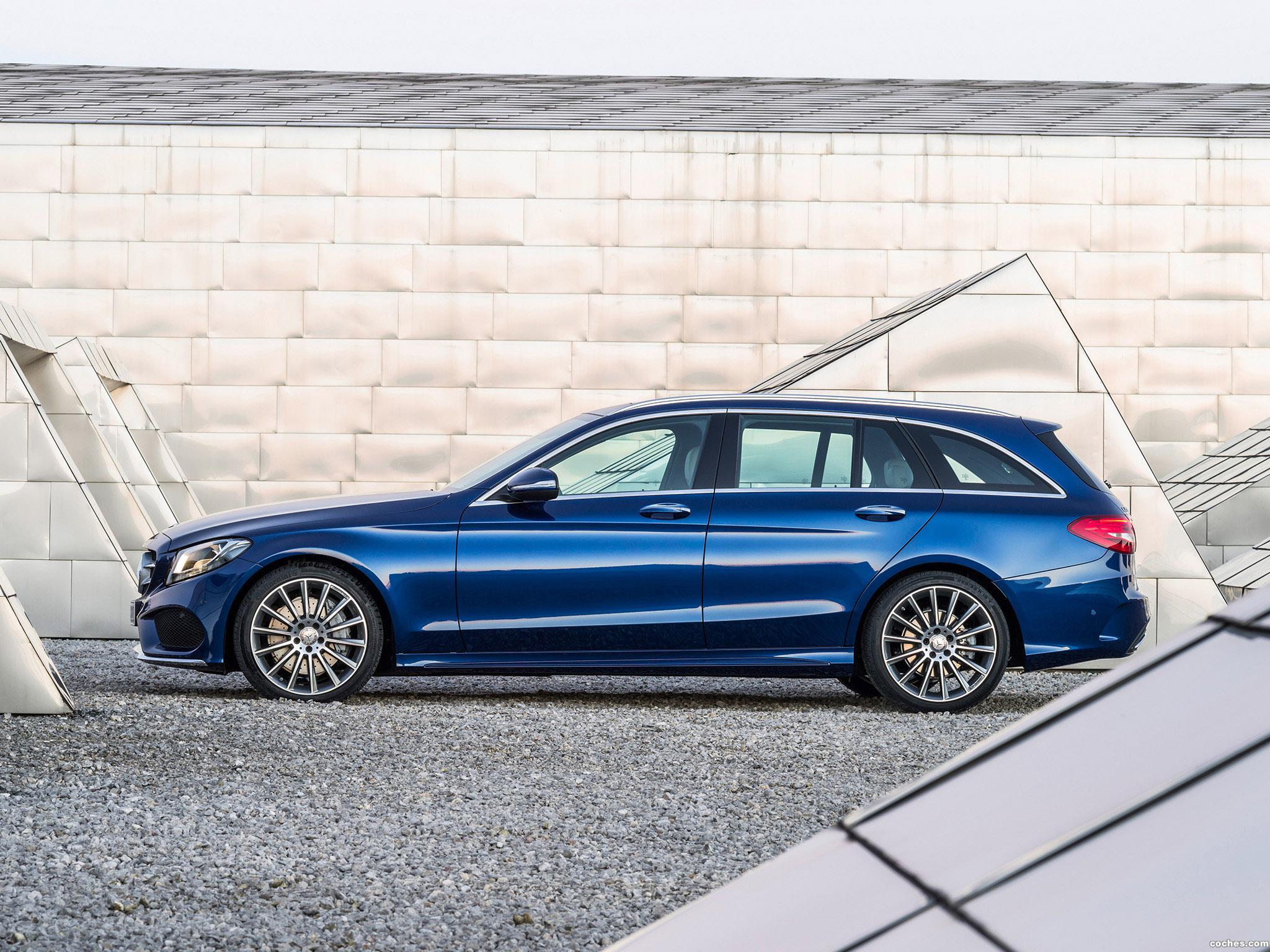 Foto 9 de Mercedes Clase C Estate C250 Bluetec AMG Line Estate S205 2014