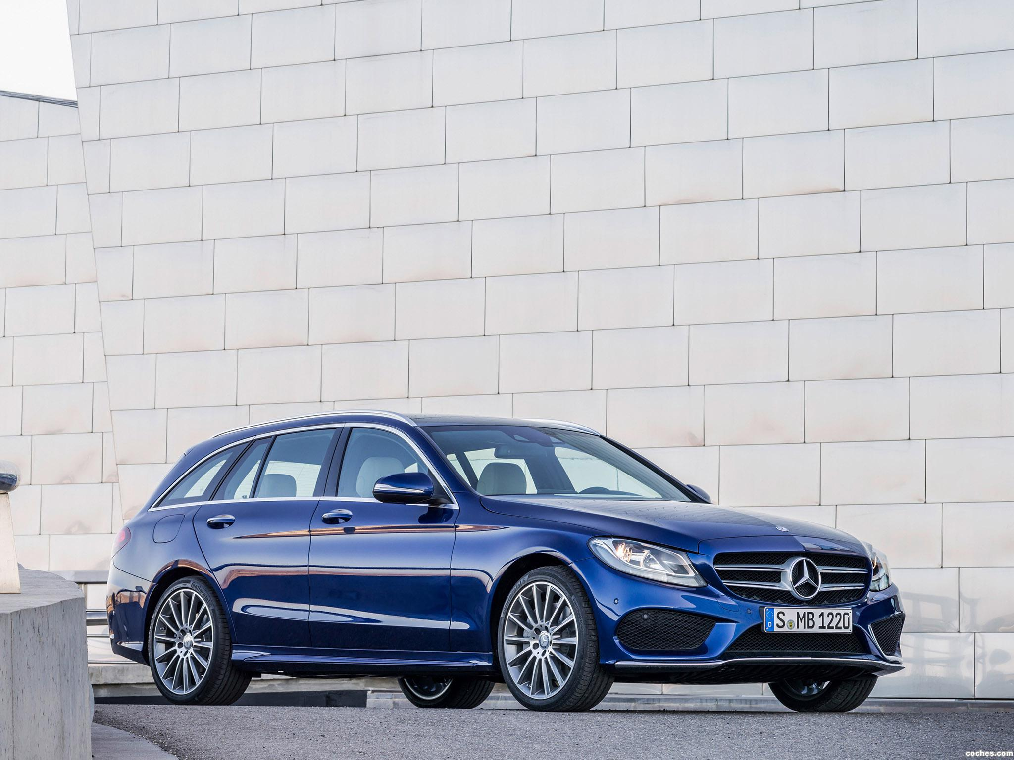 fotos de mercedes clase c estate c250 bluetec amg line. Black Bedroom Furniture Sets. Home Design Ideas