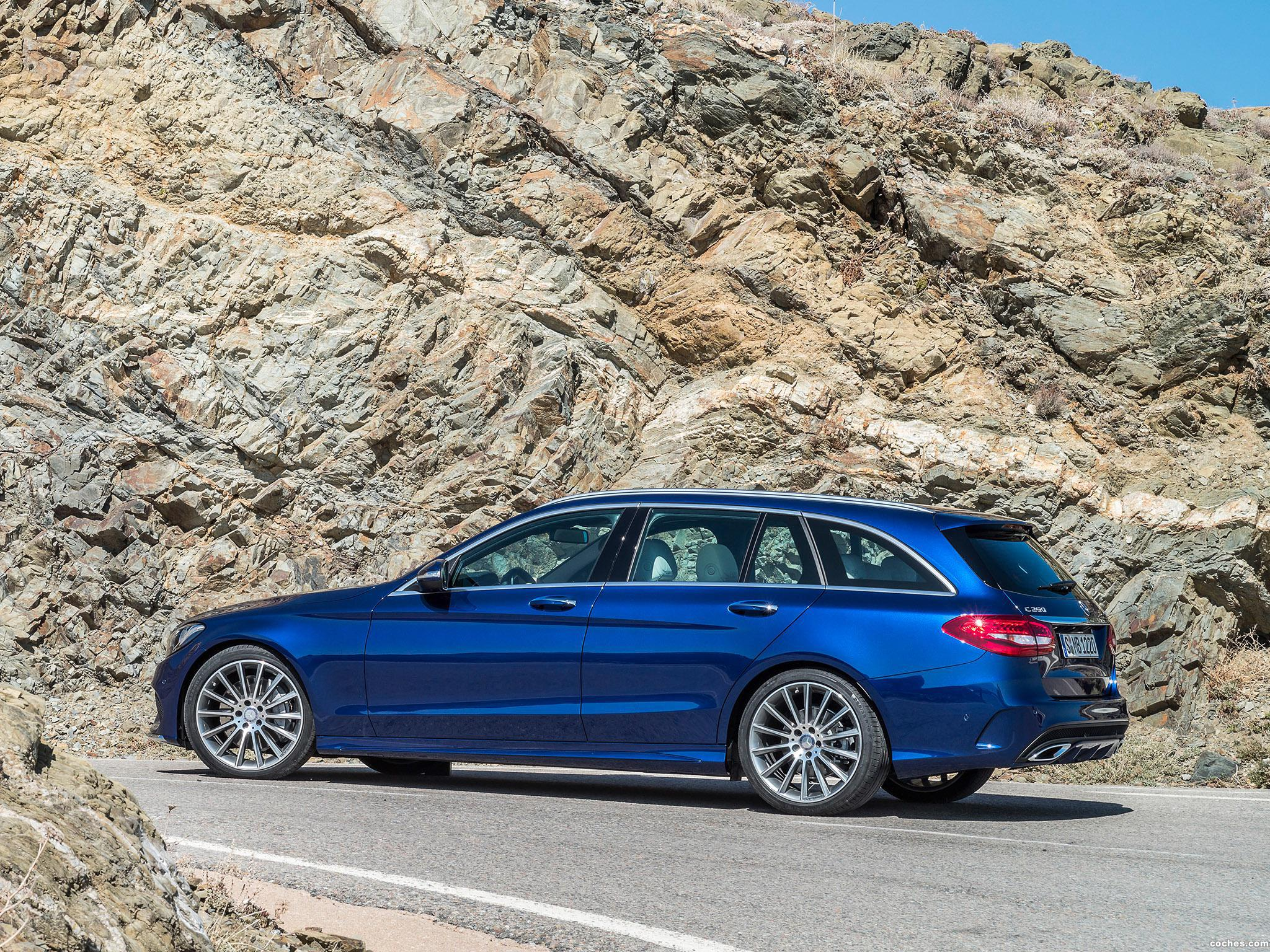 Foto 5 de Mercedes Clase C Estate C250 Bluetec AMG Line Estate S205 2014