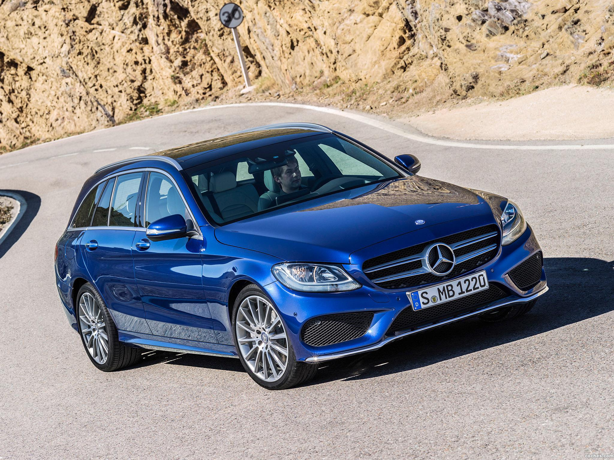 Foto 0 de Mercedes Clase C Estate C250 Bluetec AMG Line Estate S205 2014