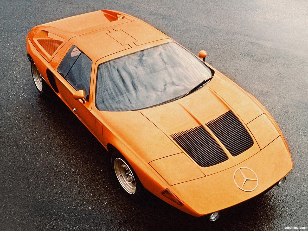 Foto 0 de Mercedes C111 Concept 1969