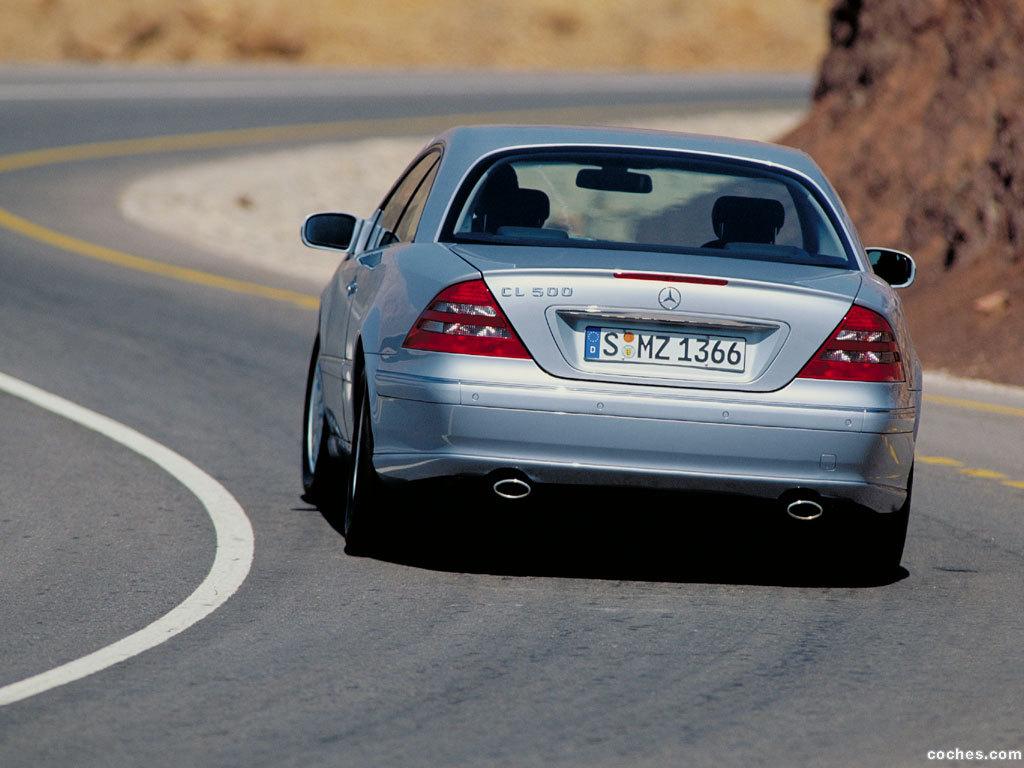 Foto 11 de Mercedes CL 1999