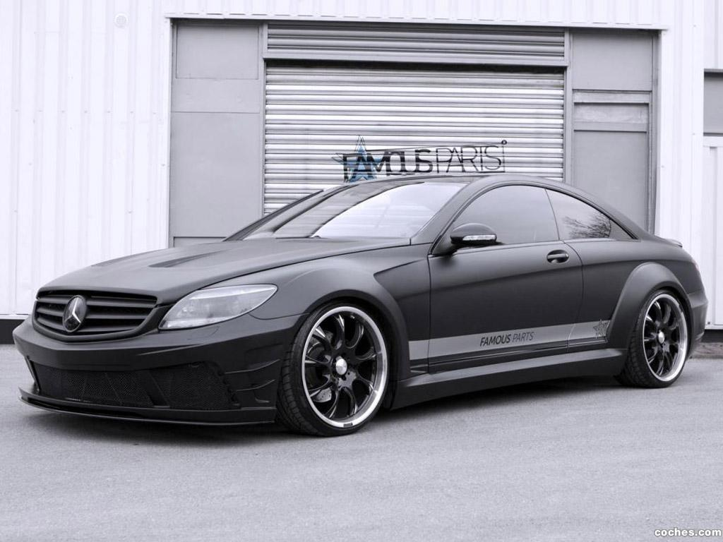 Foto 0 de Mercedes Clase CL 500 Famous Parts Black Matte Edition 2013