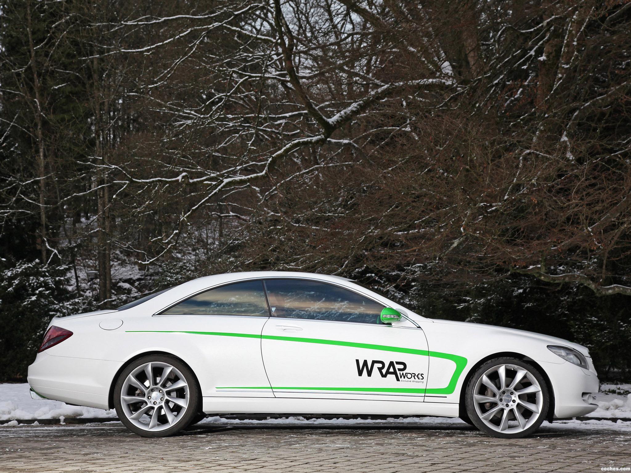 Foto 7 de Mercedes Mercedes Clase CL CL500 by Wrap Works C216 2013