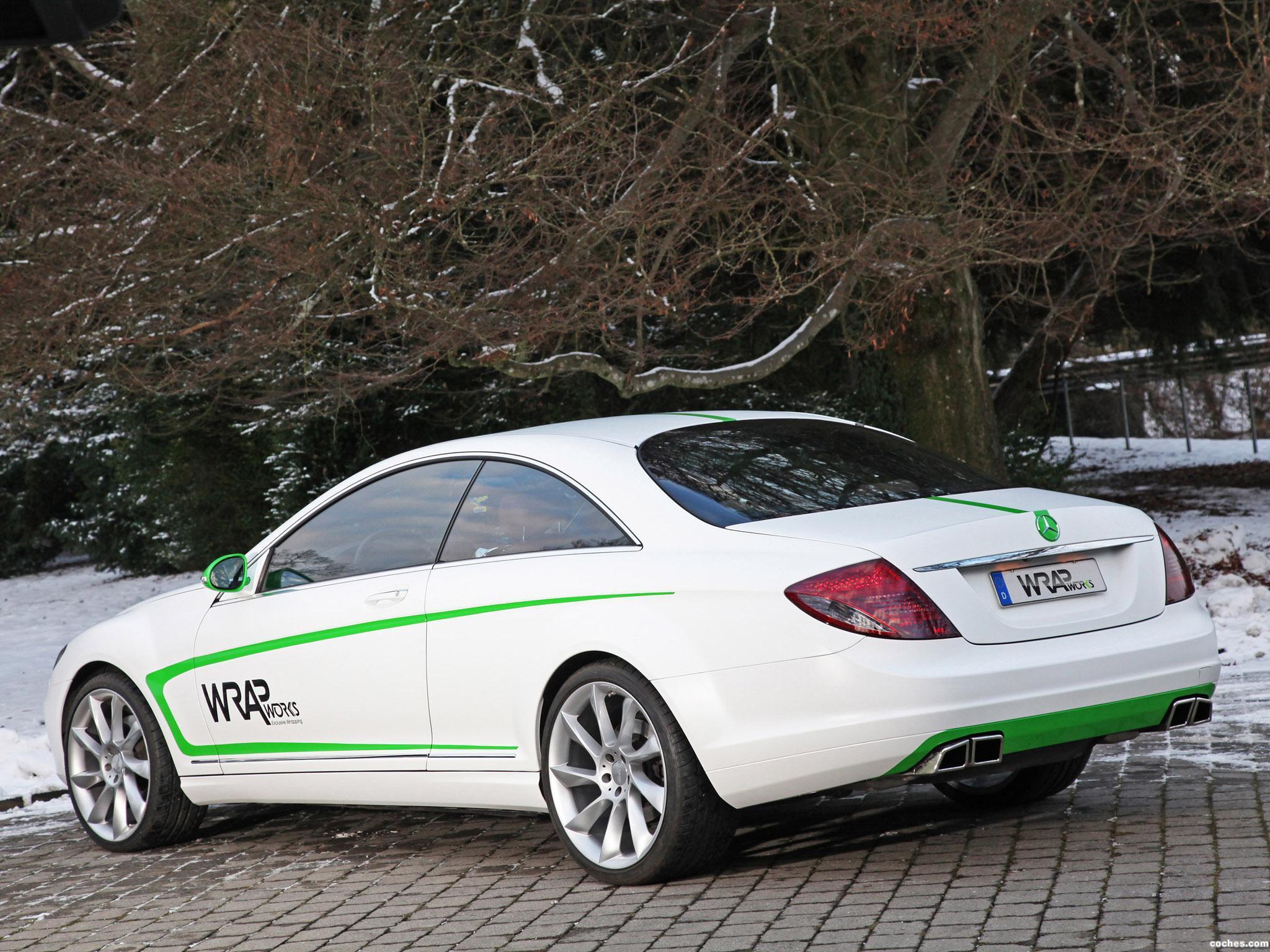 Foto 6 de Mercedes Mercedes Clase CL CL500 by Wrap Works C216 2013
