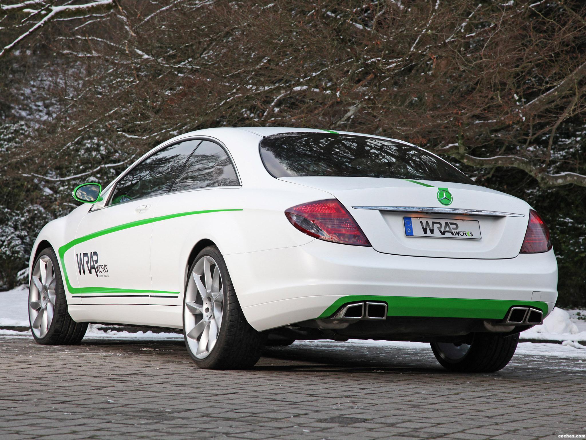 Foto 5 de Mercedes Mercedes Clase CL CL500 by Wrap Works C216 2013