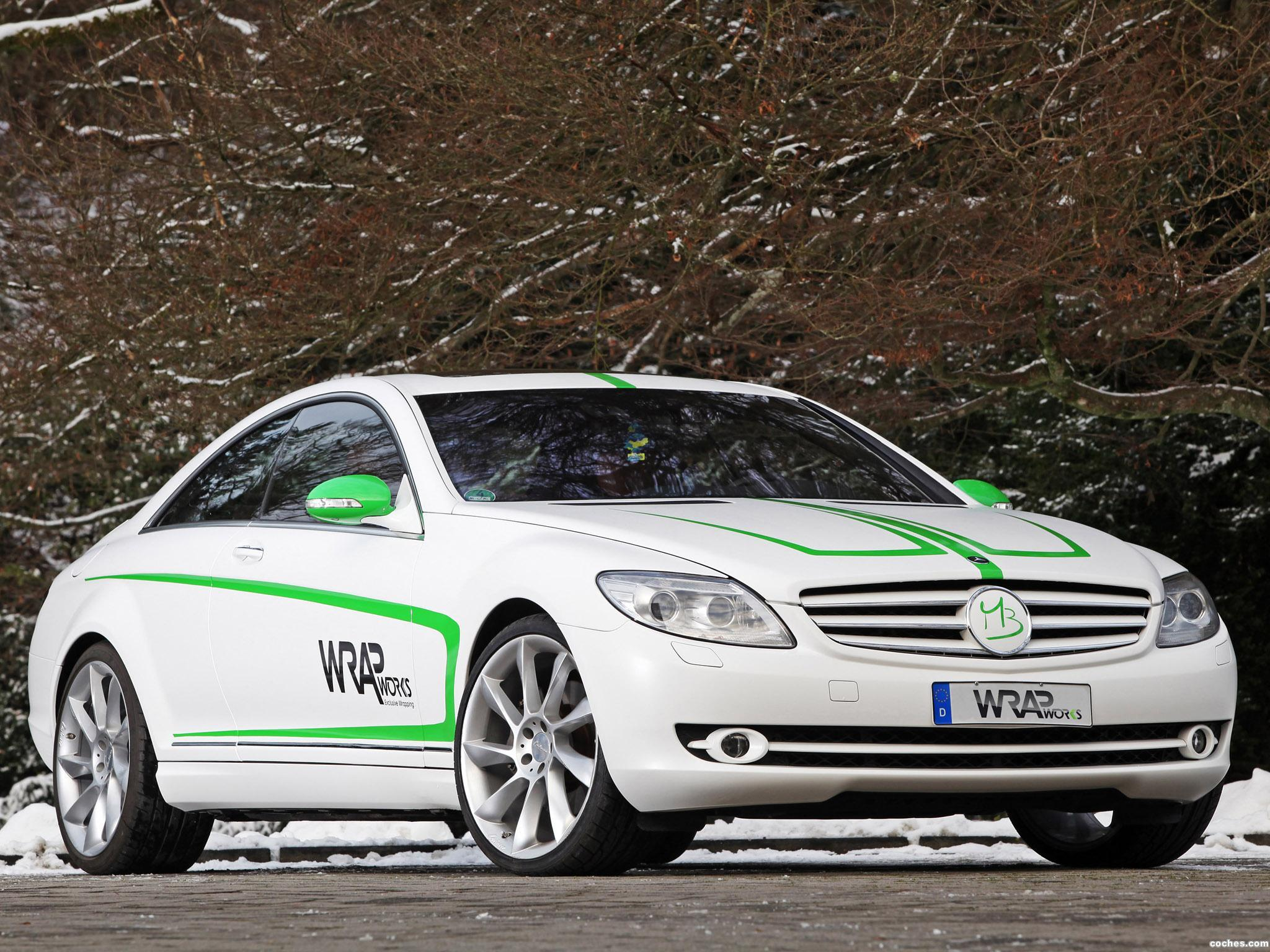 Foto 4 de Mercedes Mercedes Clase CL CL500 by Wrap Works C216 2013