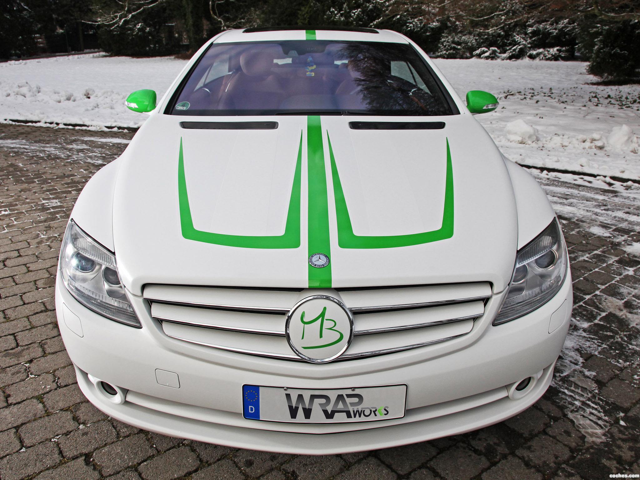 Foto 1 de Mercedes Mercedes Clase CL CL500 by Wrap Works C216 2013