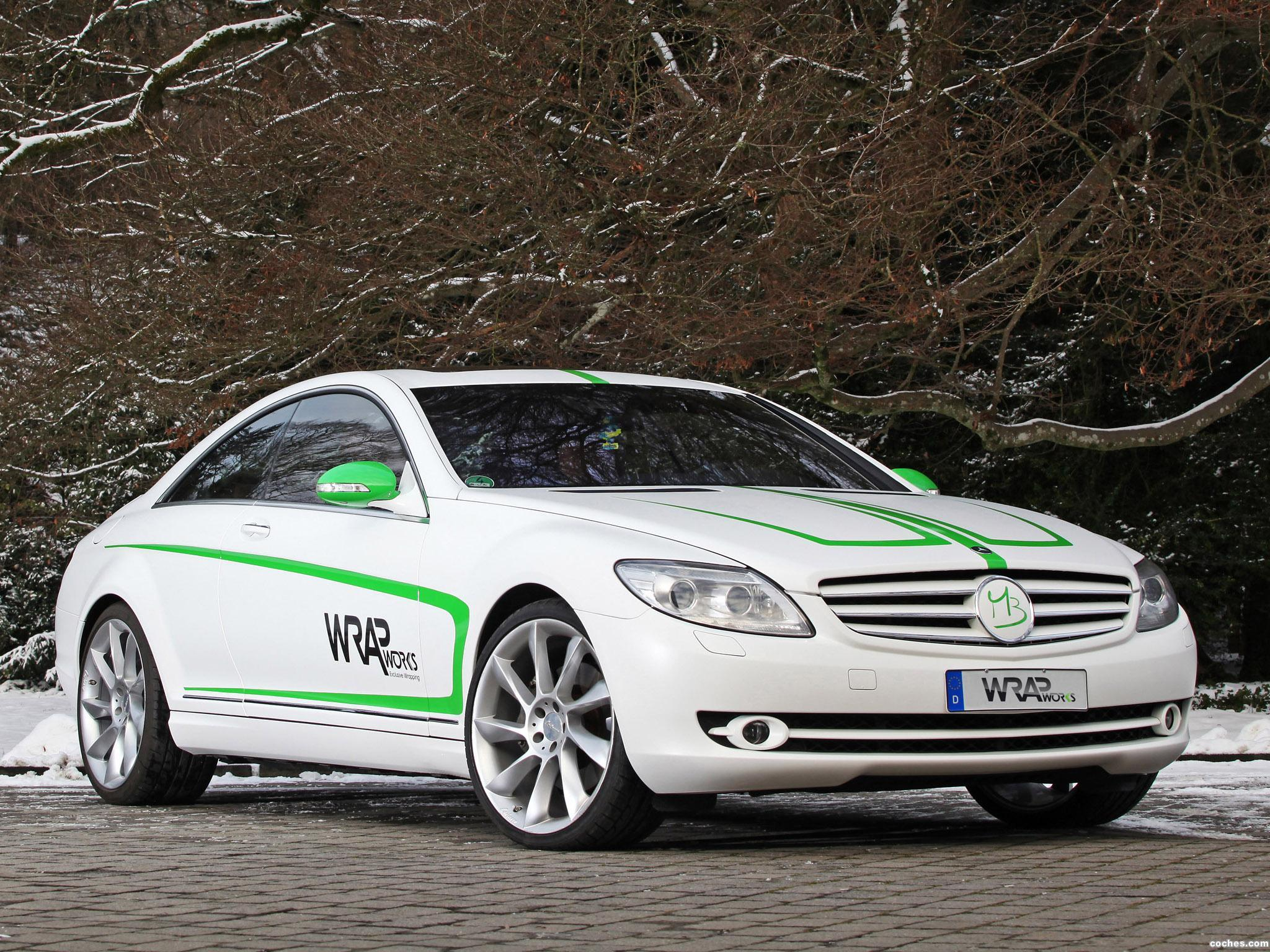 Foto 0 de Mercedes Mercedes Clase CL CL500 by Wrap Works C216 2013