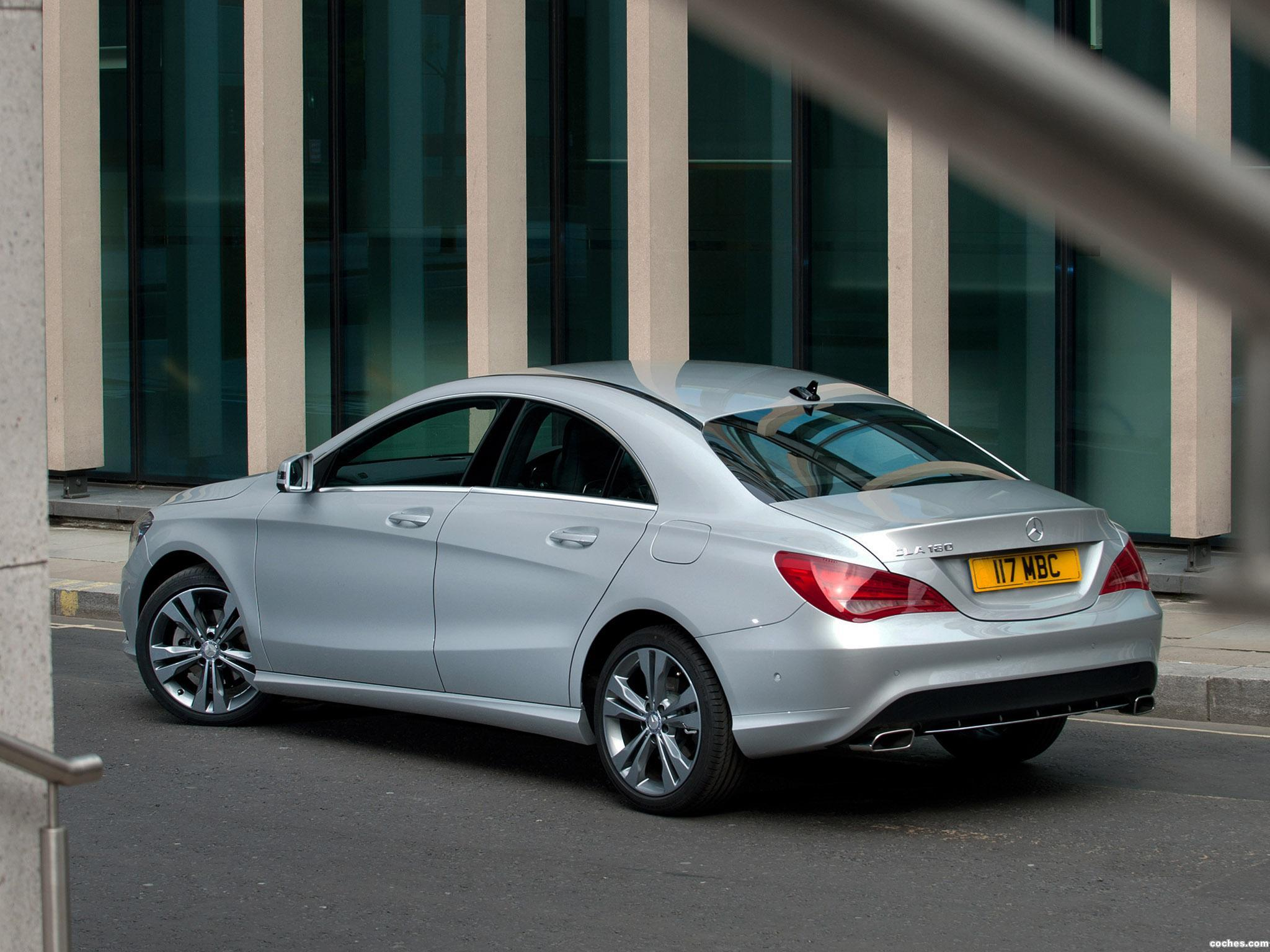 Foto 8 de Mercedes Clase CLA 220 AMG Sport Package UK 2013