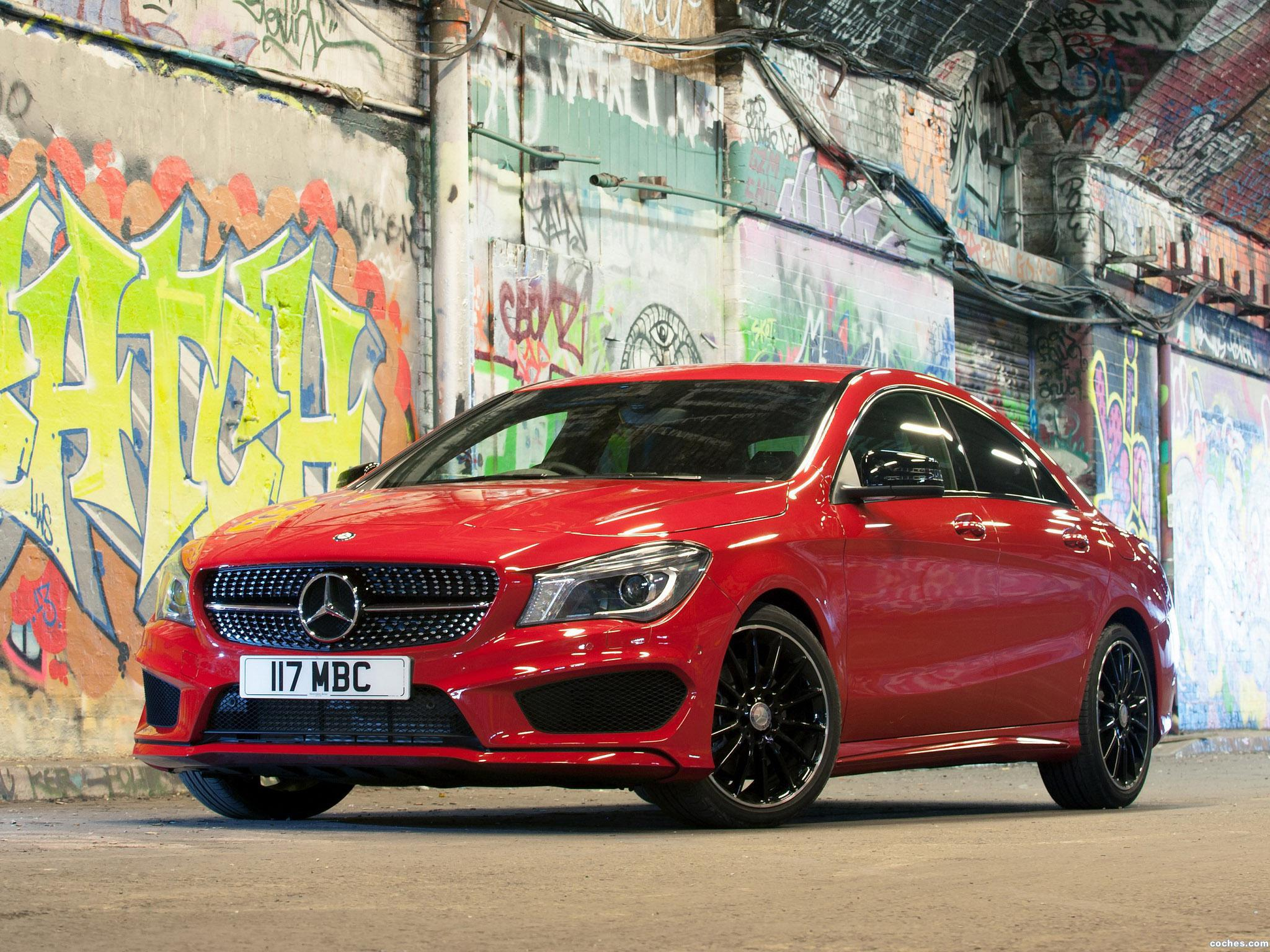 Foto 5 de Mercedes Clase CLA 220 CDI AMG Sports Package C117 UK 2013