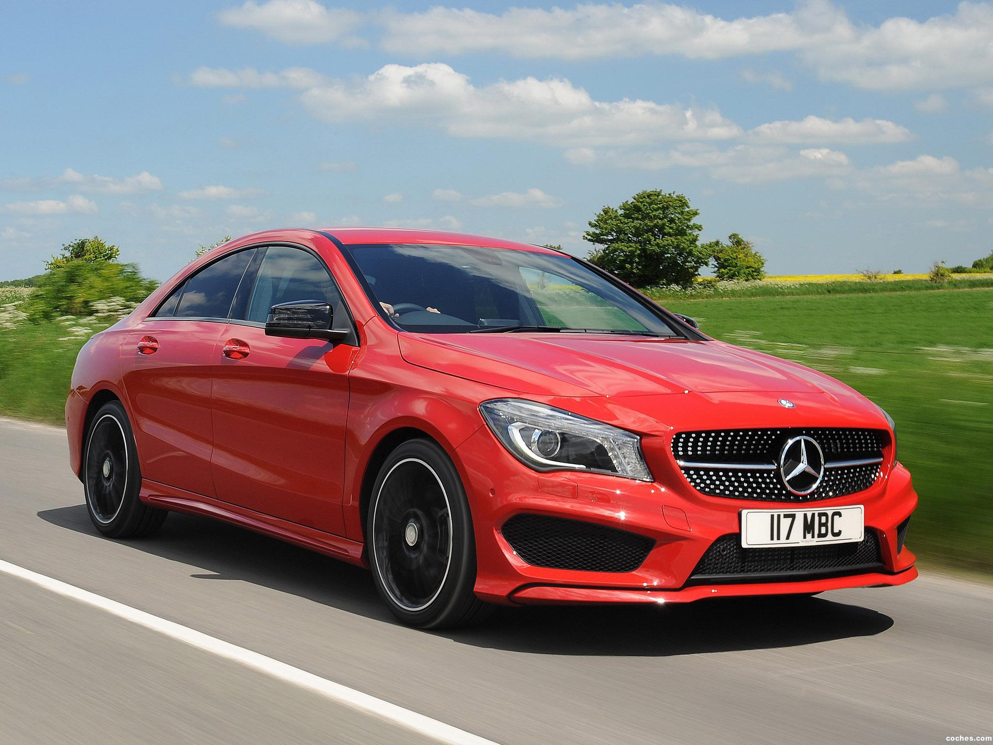 Foto 0 de Mercedes Clase CLA 220 CDI AMG Sports Package C117 UK 2013