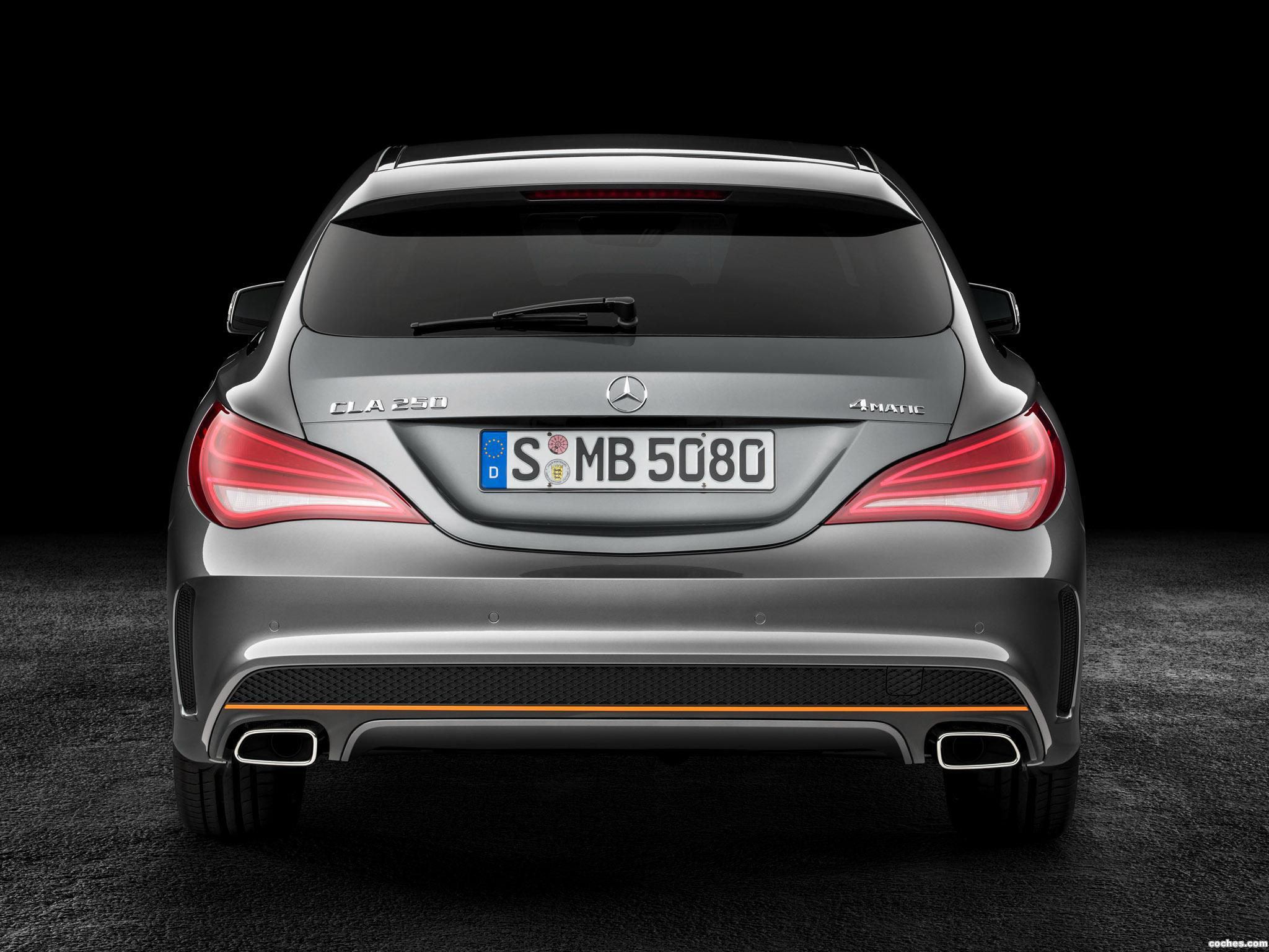 Foto 4 de Mercedes Clase CLA 250 4MATIC Shooting Brake AMG Sports Pac 2015