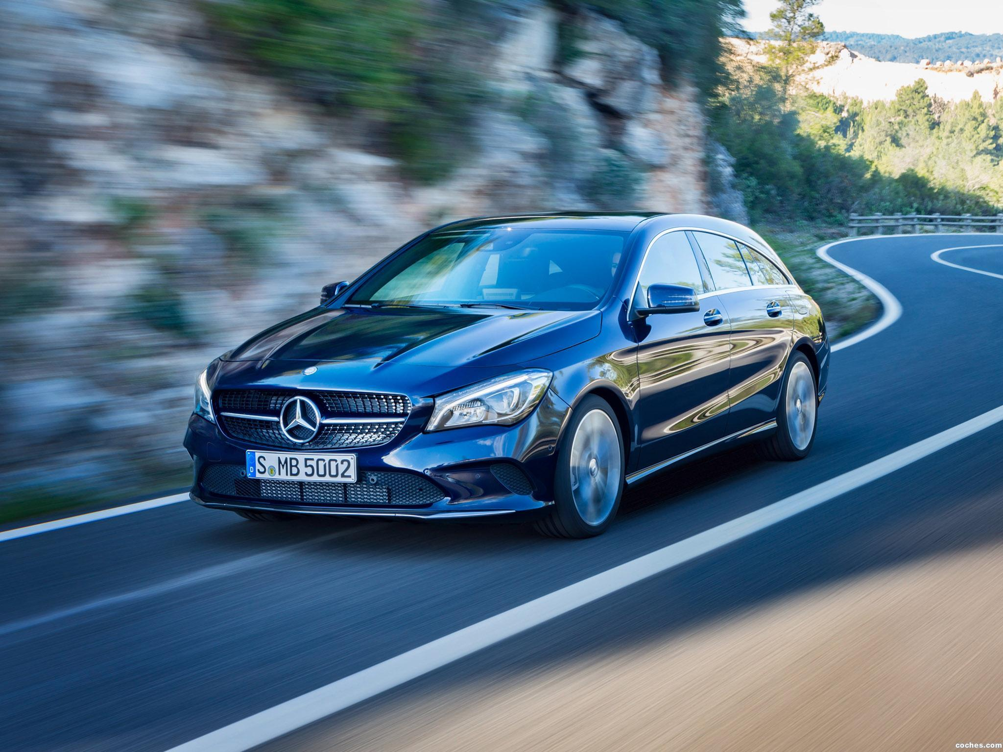 Foto 6 de Mercedes CLA 250 4MATIC Shooting Brake X117 2016
