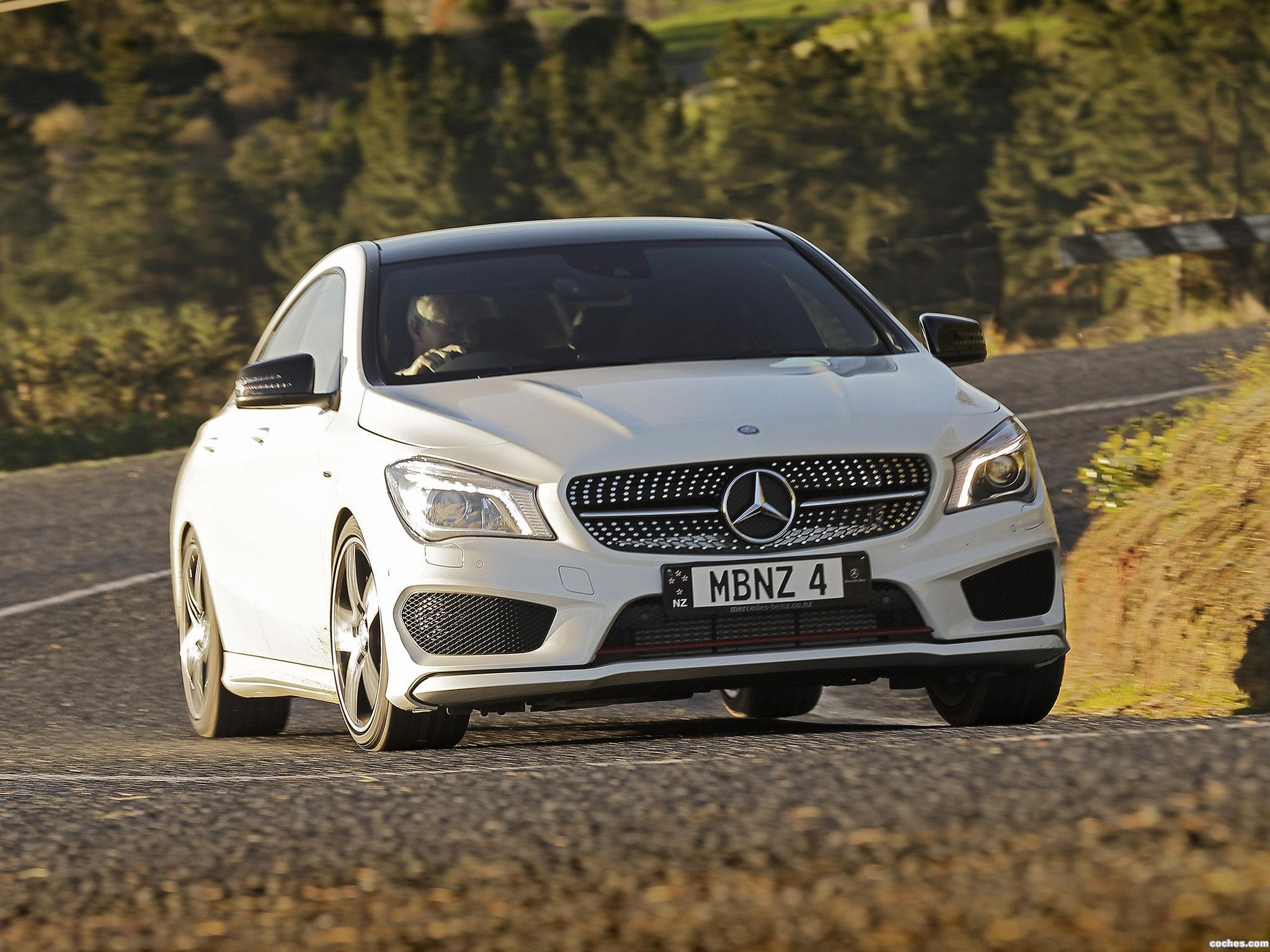 Foto 0 de Mercedes Clase CLA 250 Sport 4MATIC C117 Australia 2014