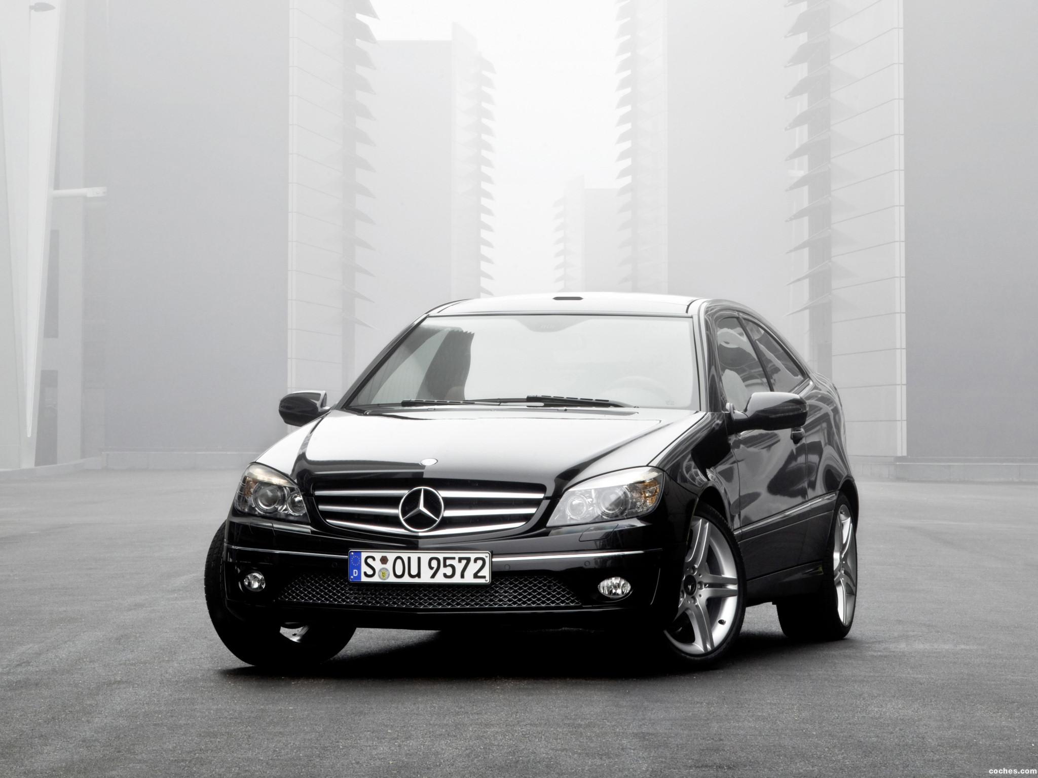 Foto 0 de Mercedes Clase CLC Kompressor 2008