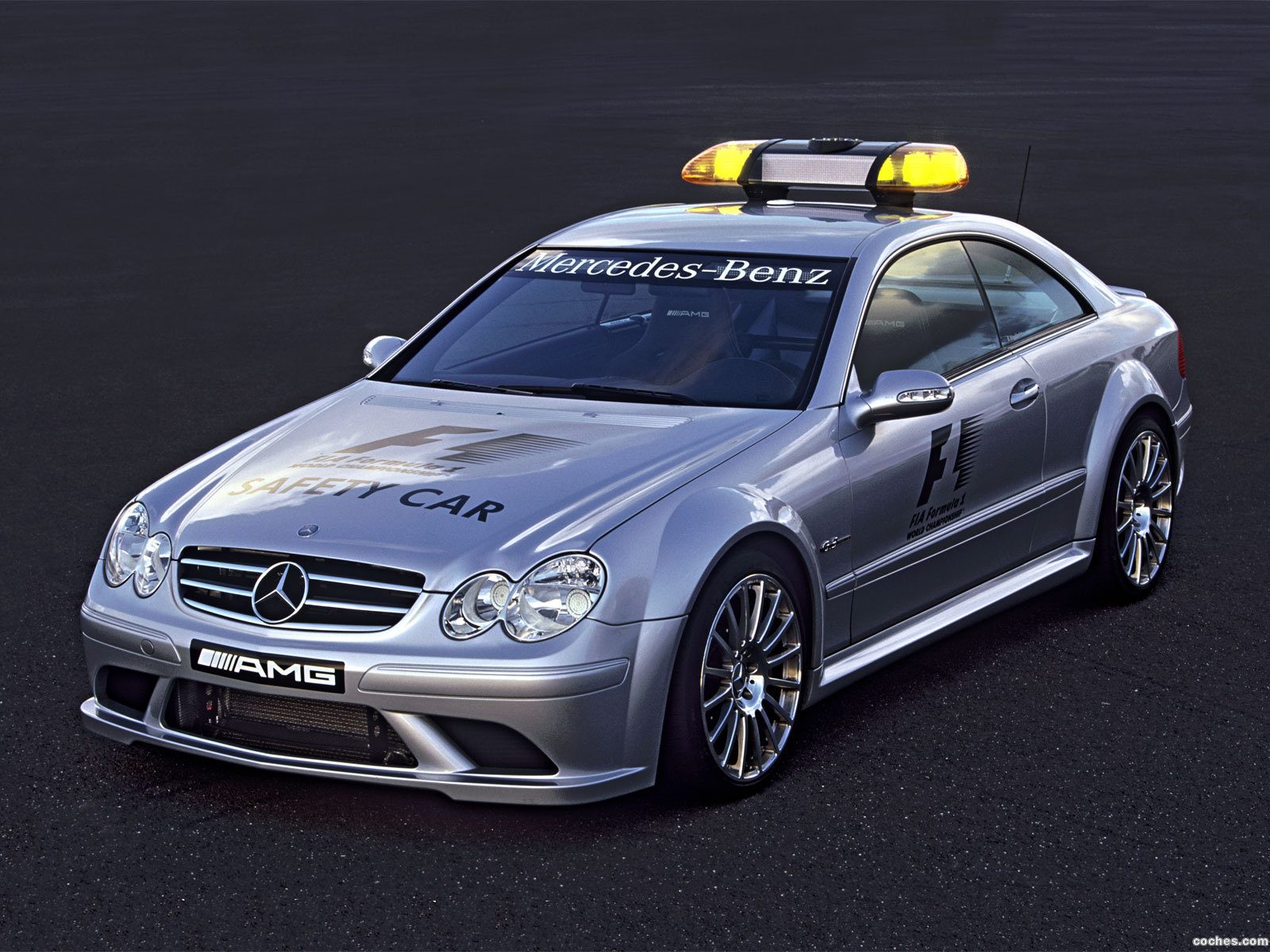 Foto 0 de Mercedes CLK 63 AMG F1 Safety Car 2006