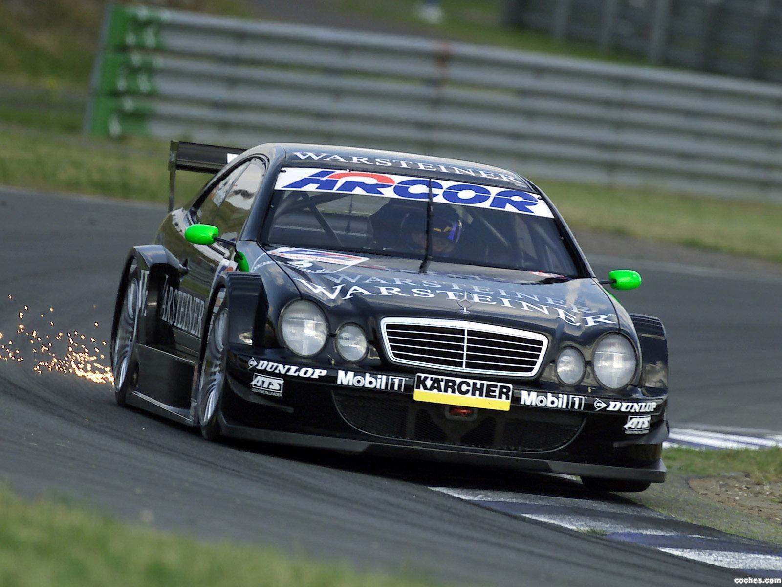 Foto 0 de Mercedes CLK DTM C208 2000