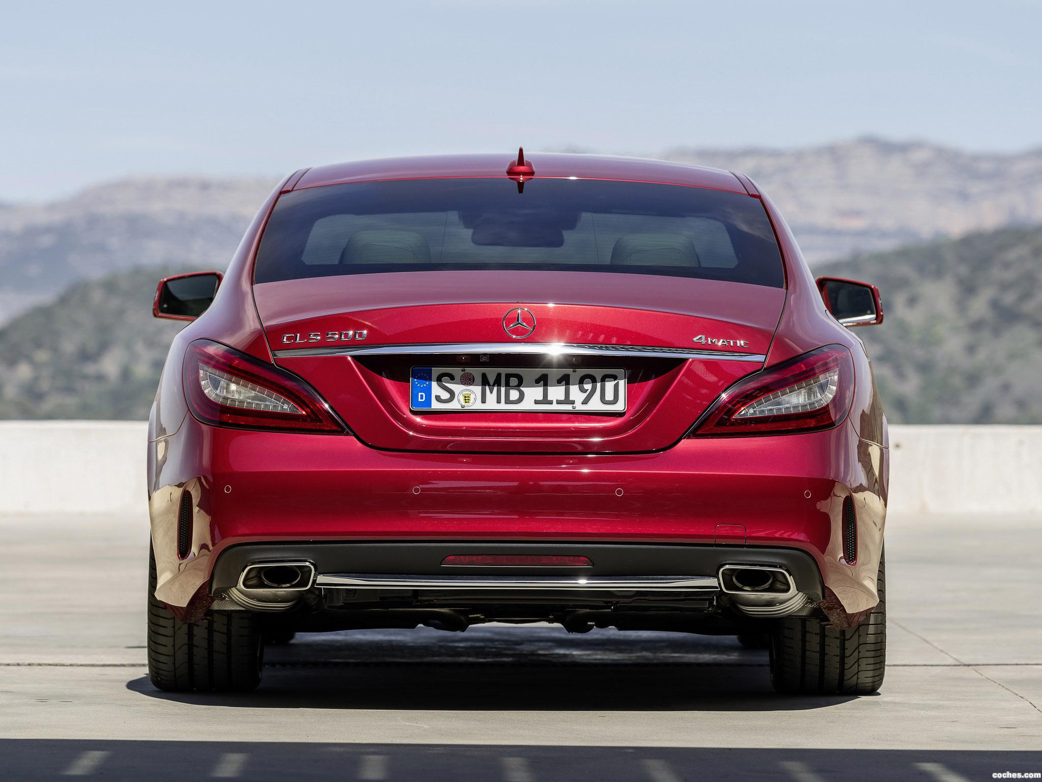 Foto 16 de Mercedes Clase CLS 500 4MATIC AMG Sports Package C218 2014