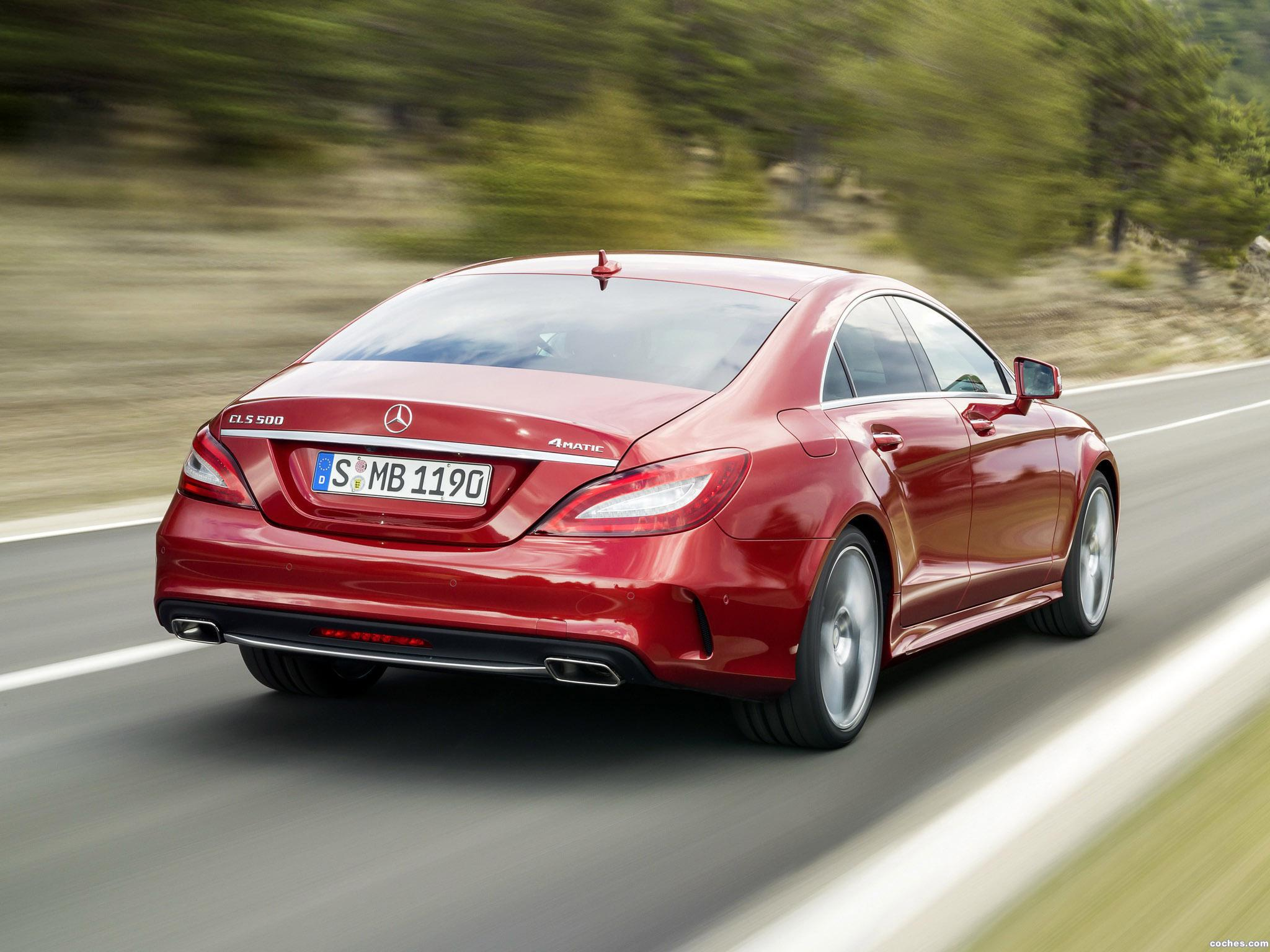 Foto 14 de Mercedes Clase CLS 500 4MATIC AMG Sports Package C218 2014