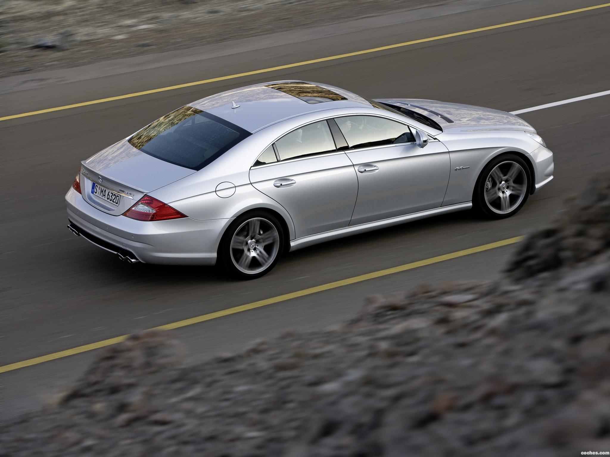 Foto 12 de Mercedes CLS 63 AMG 2008