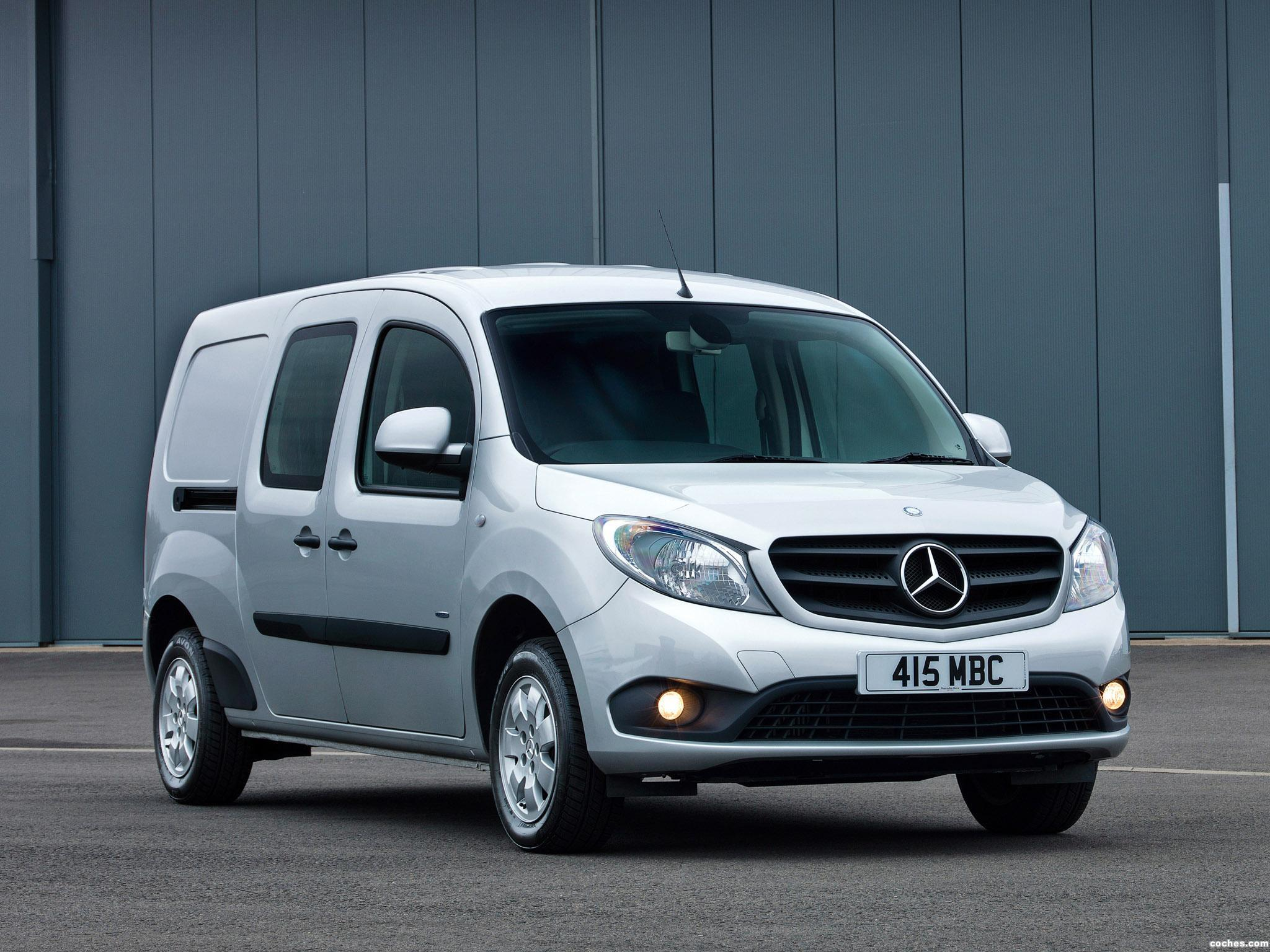 fotos de mercedes citan 109 cdi crewbus uk 2013 pictures. Black Bedroom Furniture Sets. Home Design Ideas