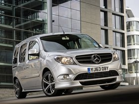 Ver foto 1 de Mercedes Citan 109 CDI Wheelchair UK 2013