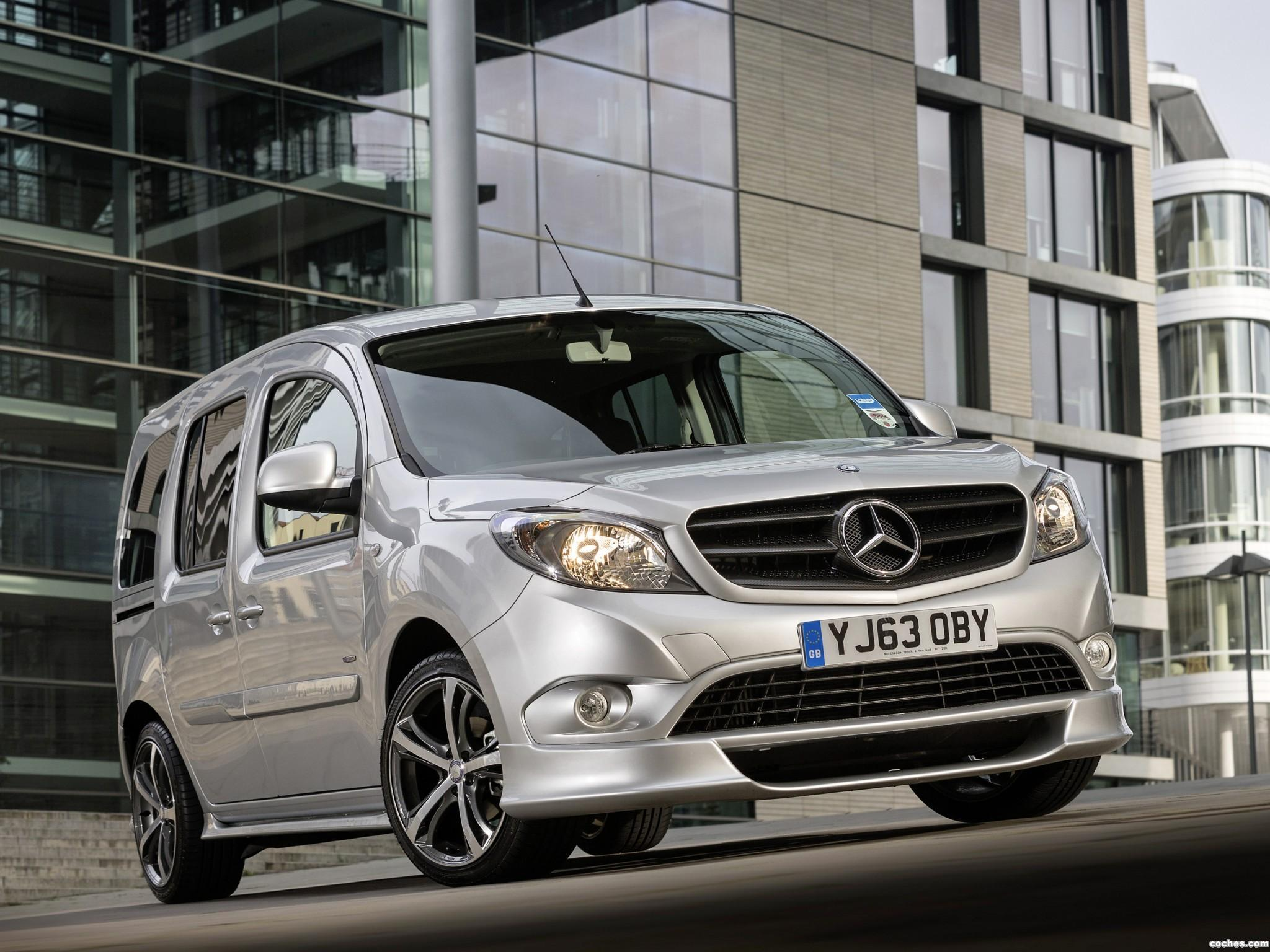 Foto 0 de Mercedes Citan 109 CDI Wheelchair UK 2013