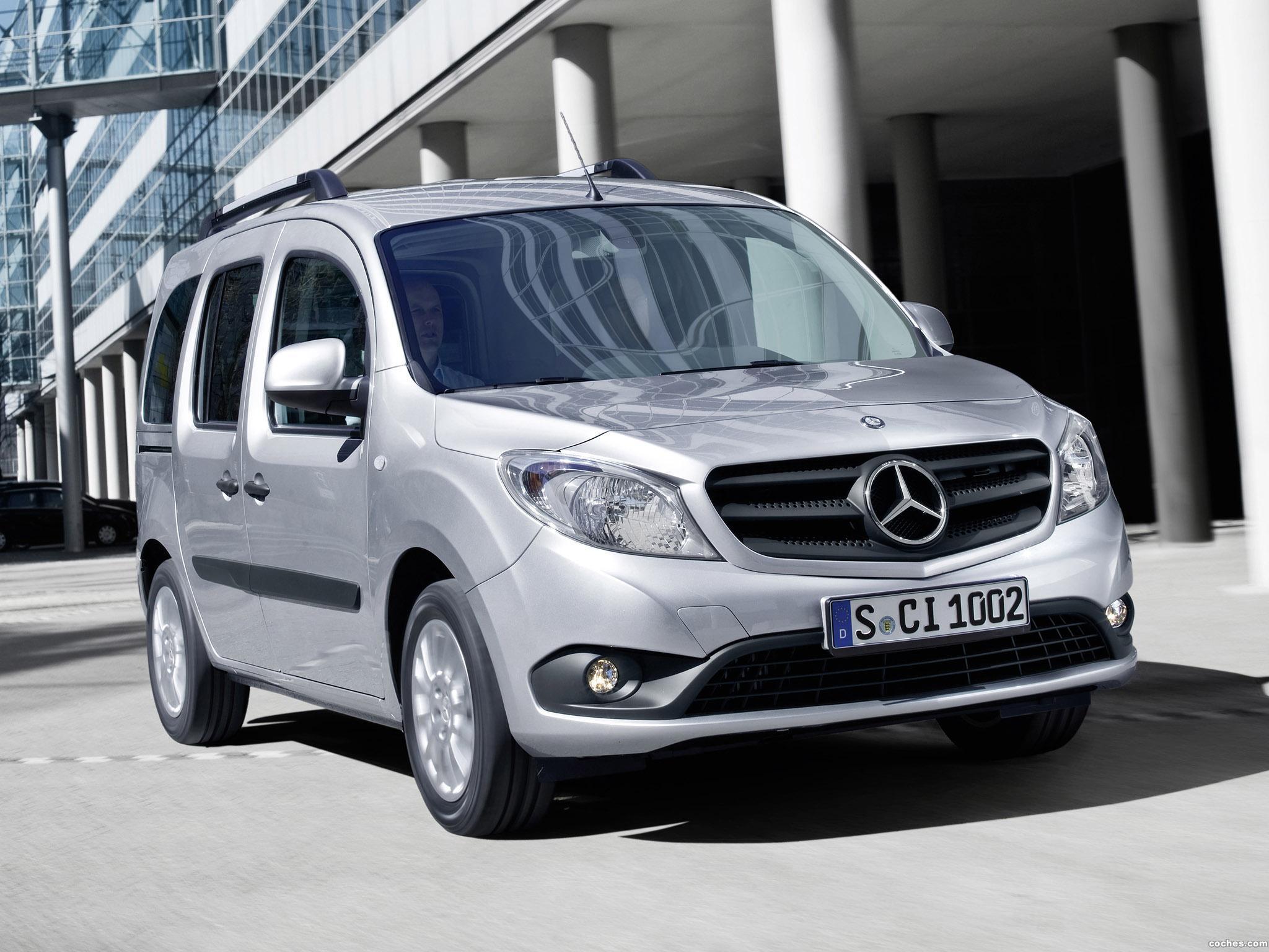 Foto 0 de Mercedes Citan Delivery Van 109 CDI 2012