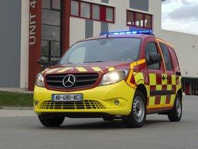 Ver foto 1 de Mercedes Citan Feuerwehr 2013