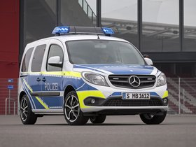 Fotos de Mercedes Citan Polizei 2013
